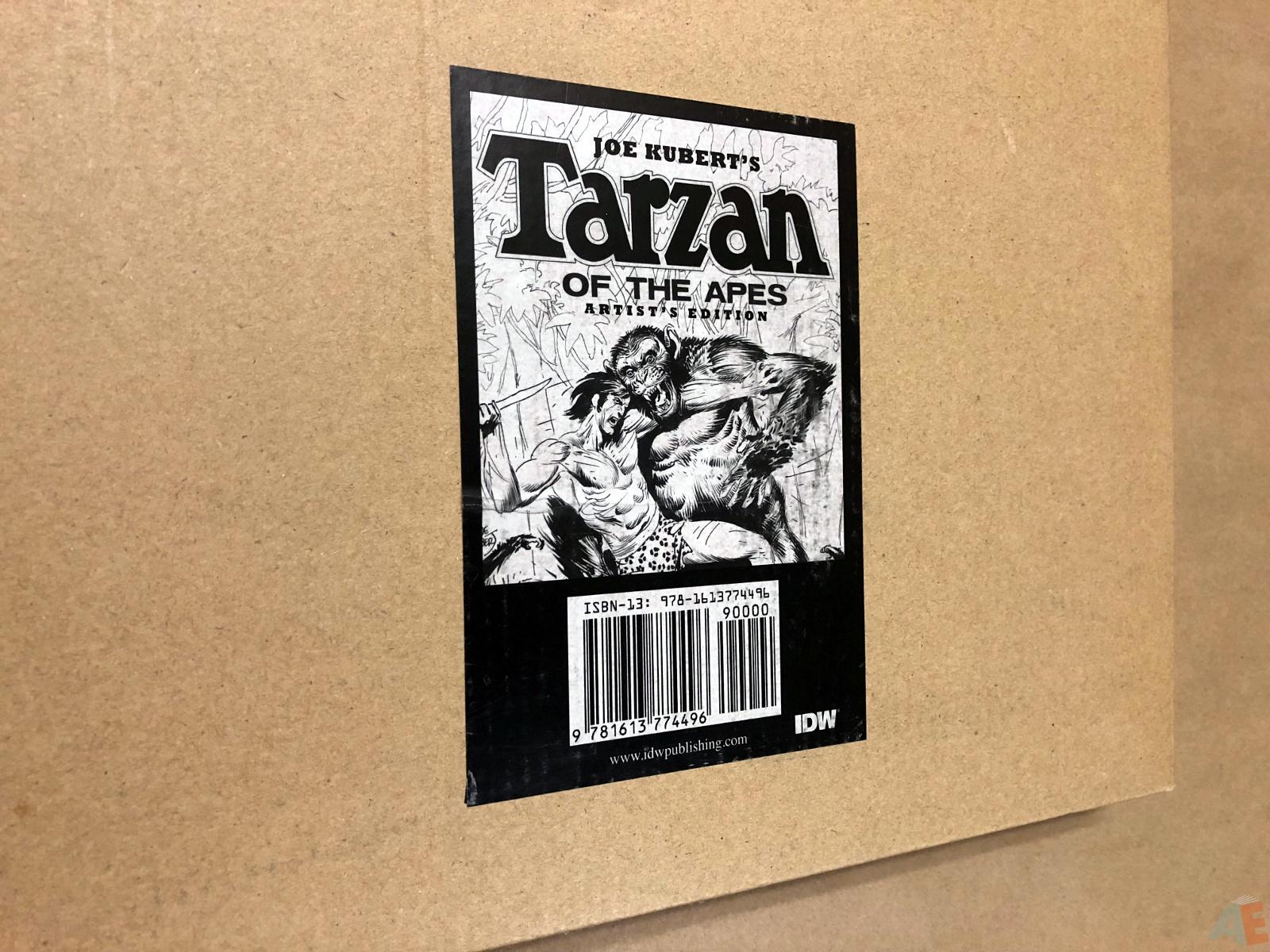 Joe Kubert's Tarzan of the Apes Artist's Edition 48