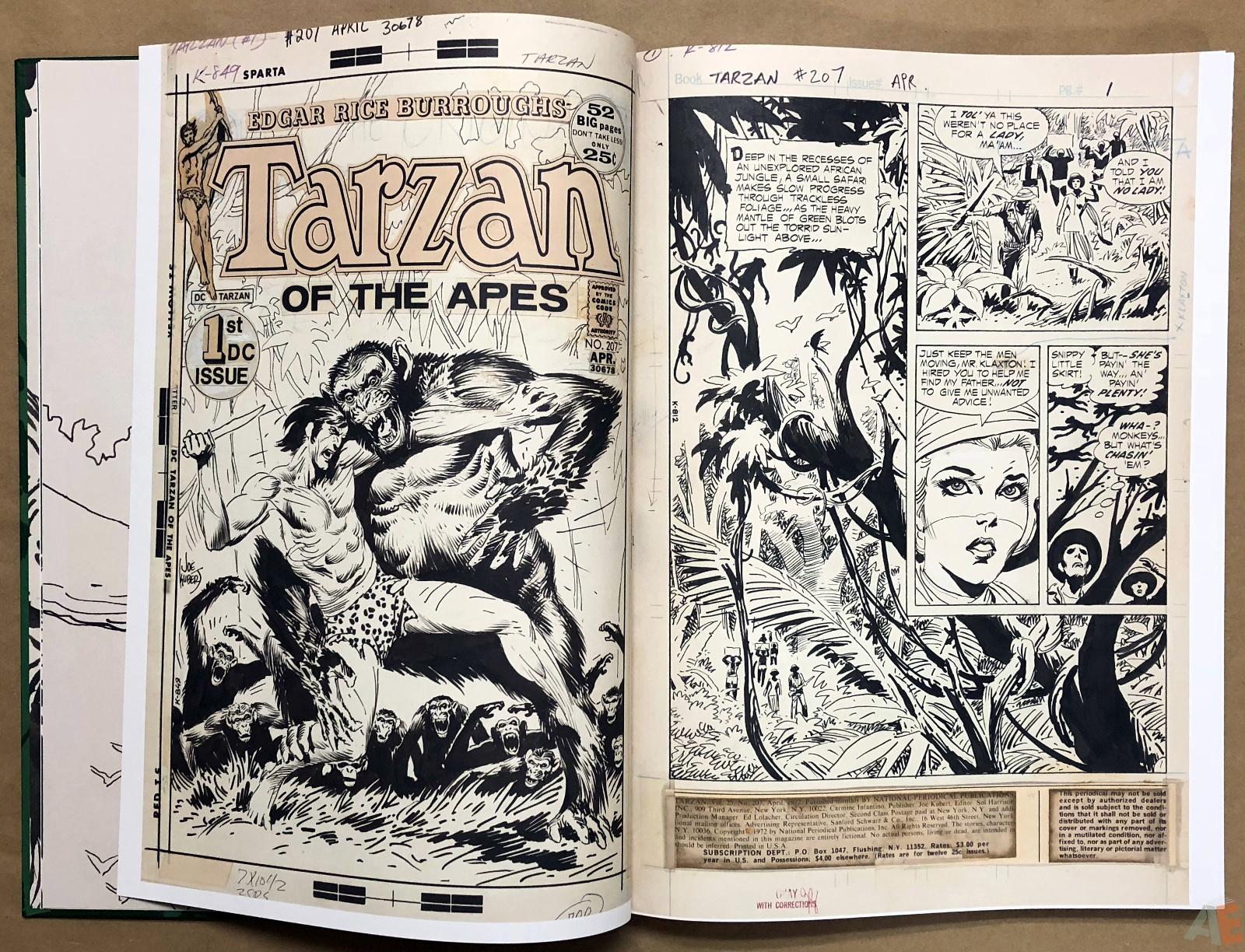 Joe Kubert's Tarzan of the Apes Artist's Edition 10
