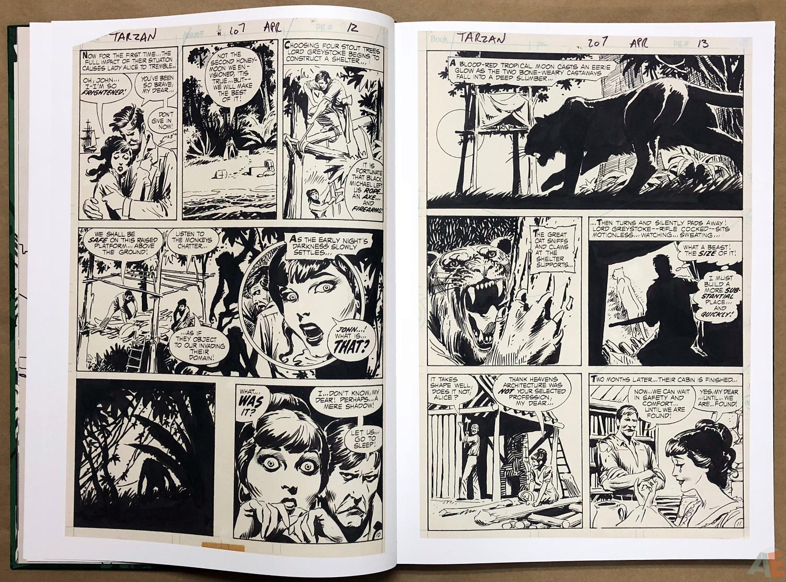 Joe Kubert's Tarzan of the Apes Artist's Edition 12