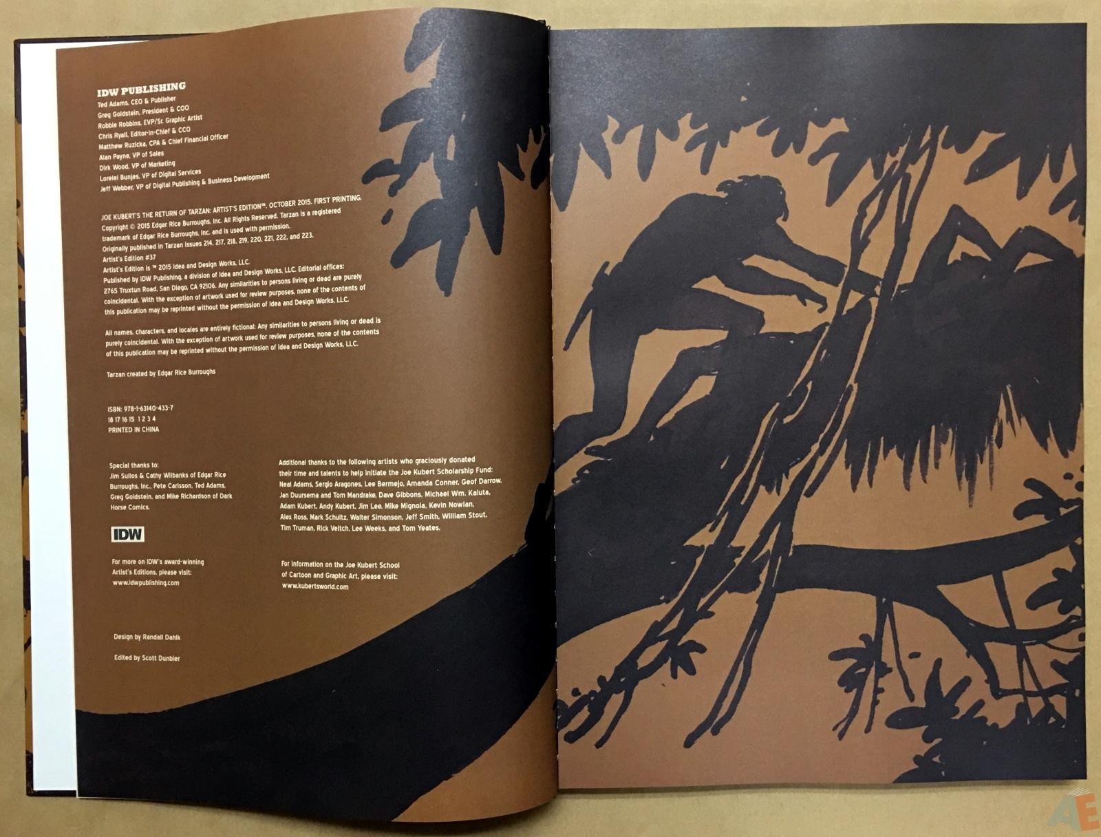 Joe Kubert's The Return Of Tarzan Artist's Edition 4