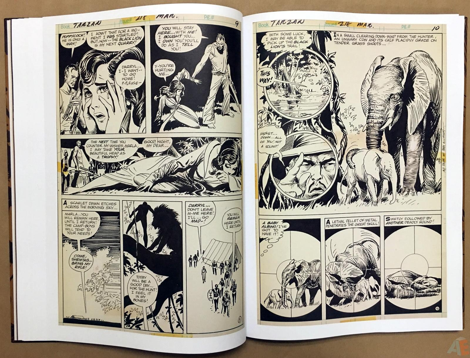 Joe Kubert's The Return Of Tarzan Artist's Edition 22