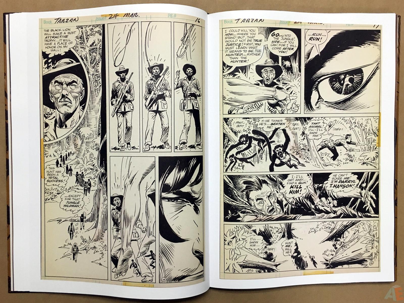 Joe Kubert's The Return Of Tarzan Artist's Edition 24