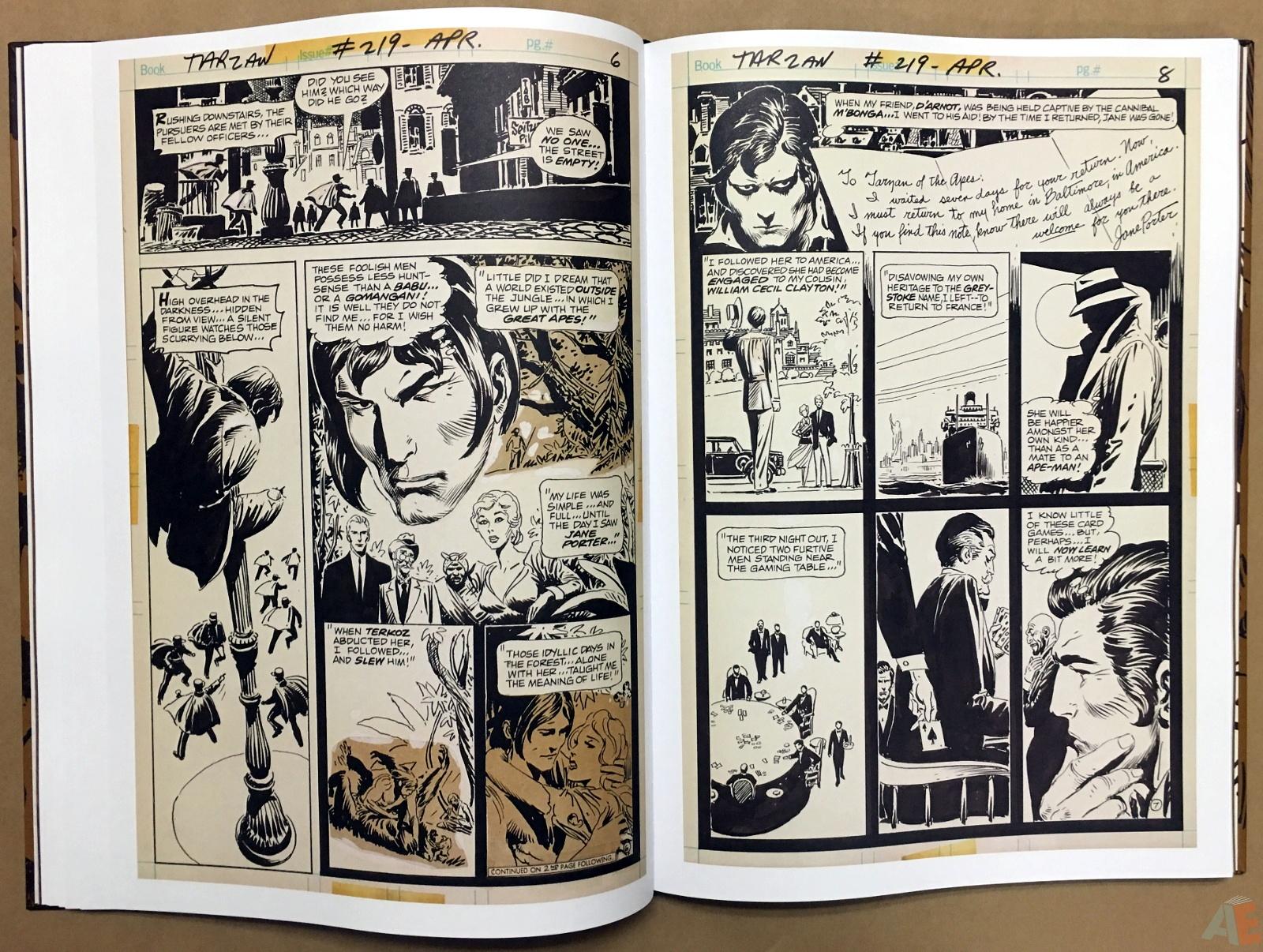 Joe Kubert's The Return Of Tarzan Artist's Edition 26