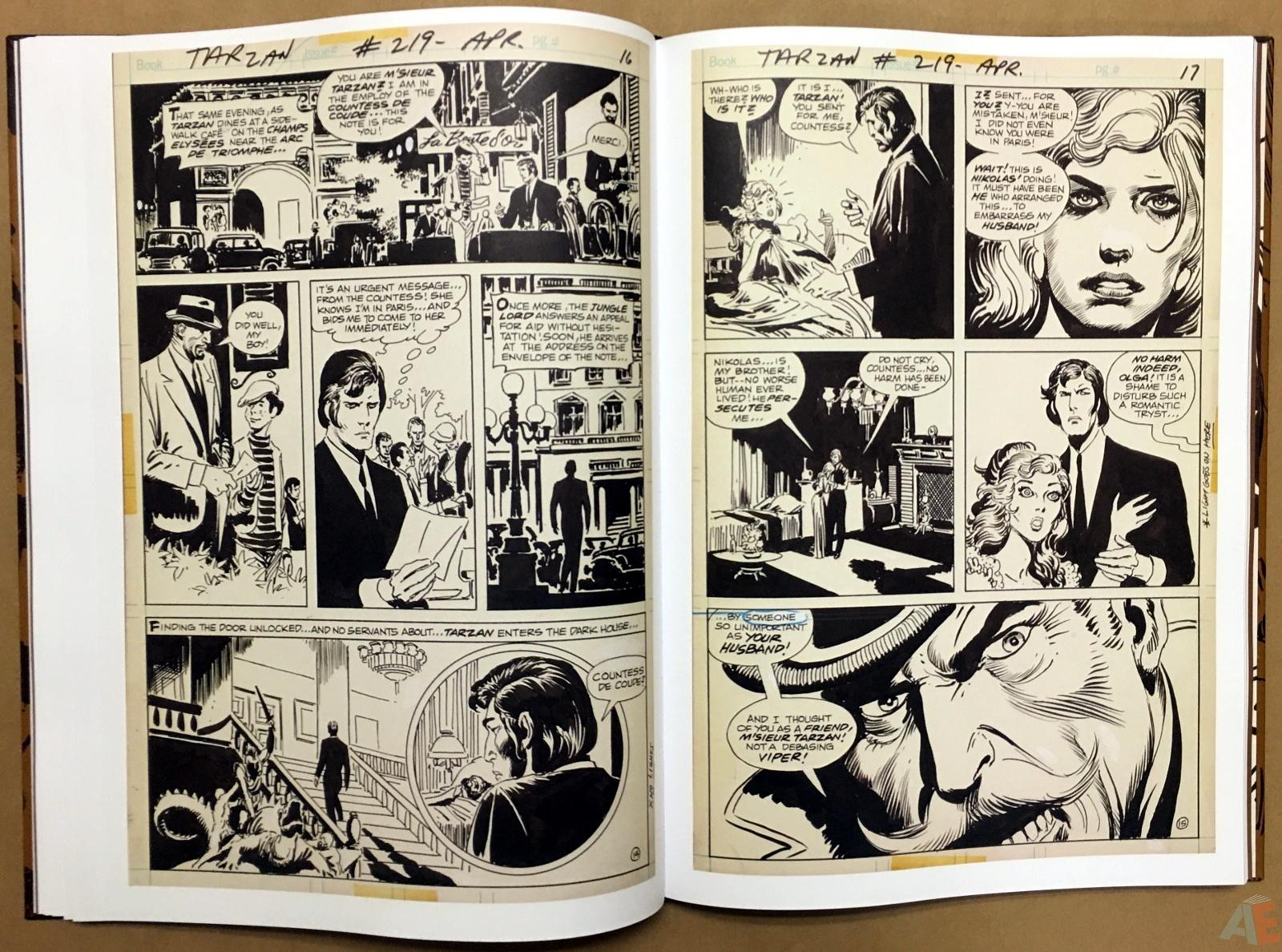 Joe Kubert's The Return Of Tarzan Artist's Edition 28