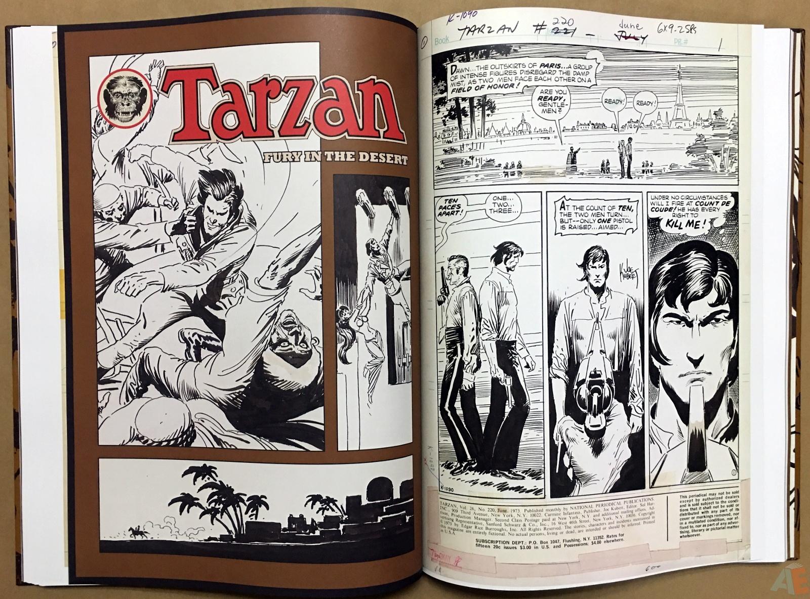 Joe Kubert's The Return Of Tarzan Artist's Edition 30