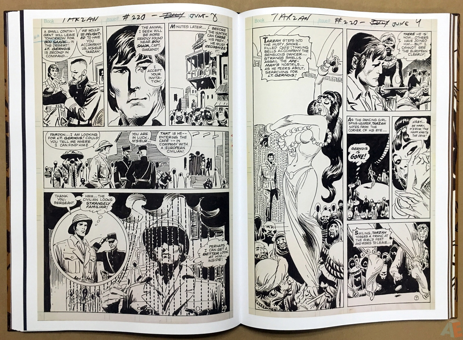 Joe Kubert's The Return Of Tarzan Artist's Edition 32