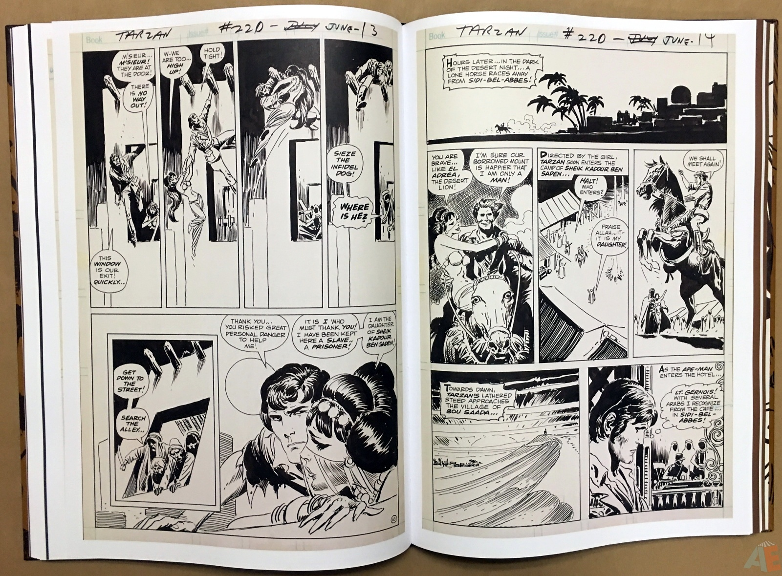Joe Kubert's The Return Of Tarzan Artist's Edition 34