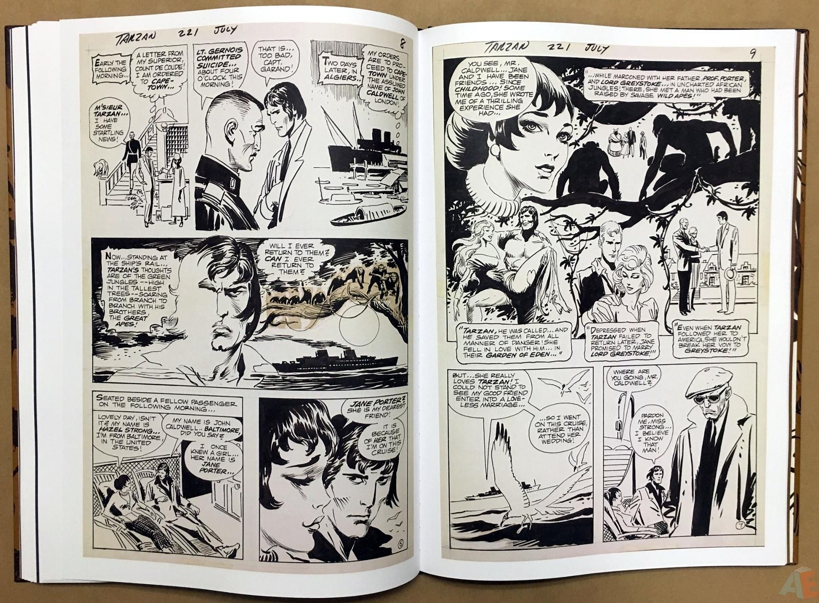 Joe Kubert's The Return Of Tarzan Artist's Edition 36
