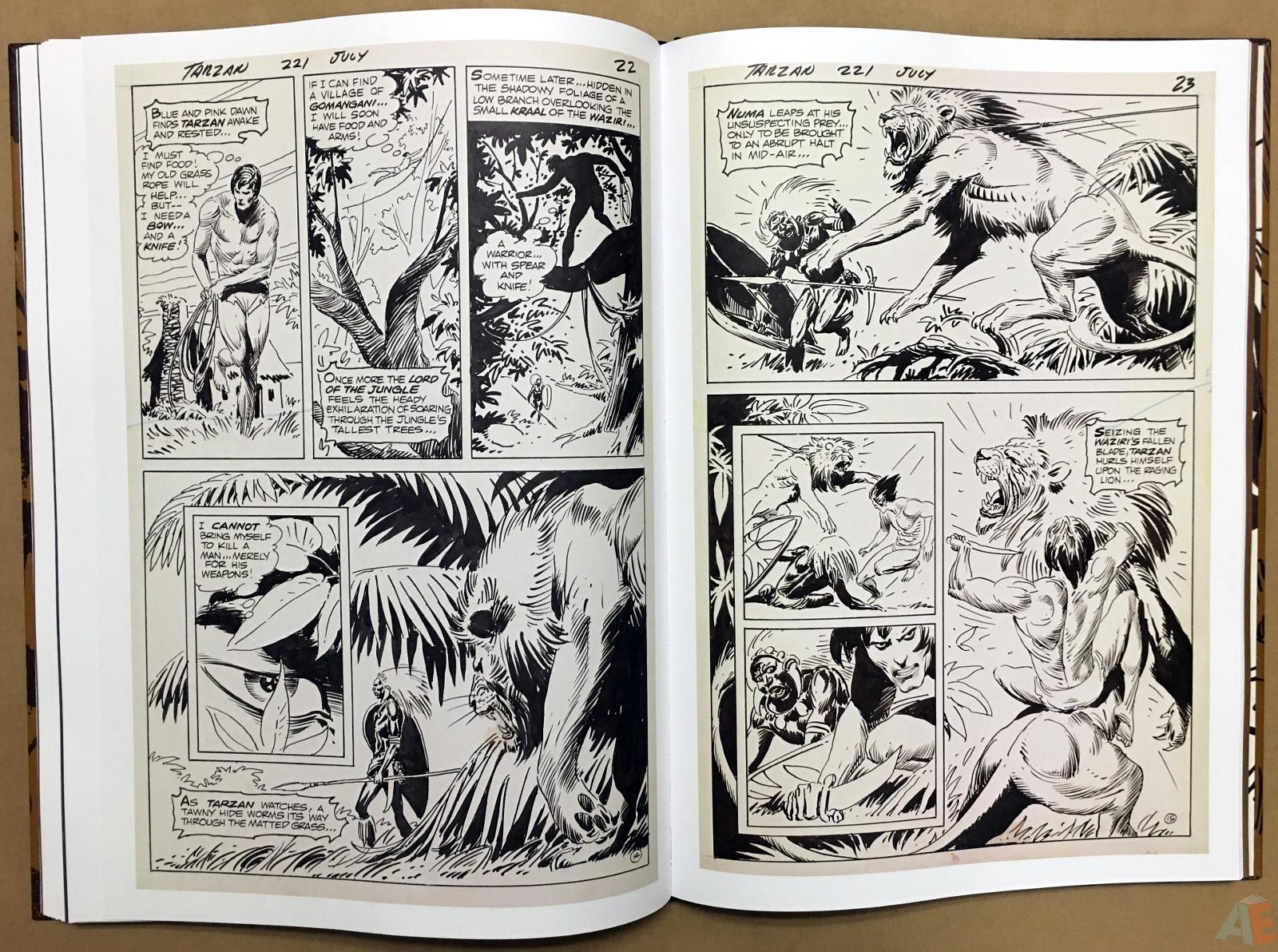 Joe Kubert's The Return Of Tarzan Artist's Edition 38