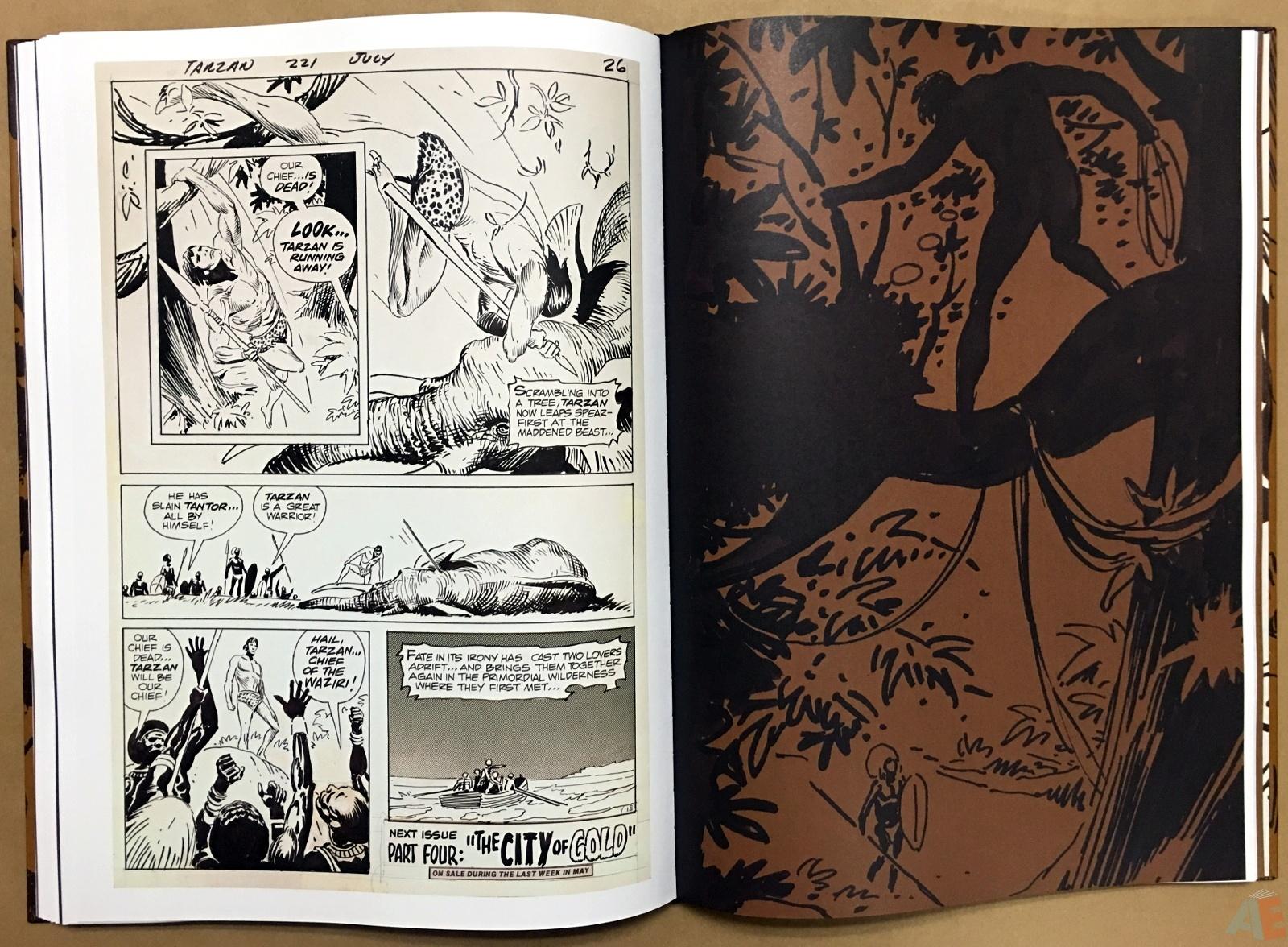 Joe Kubert's The Return Of Tarzan Artist's Edition 40