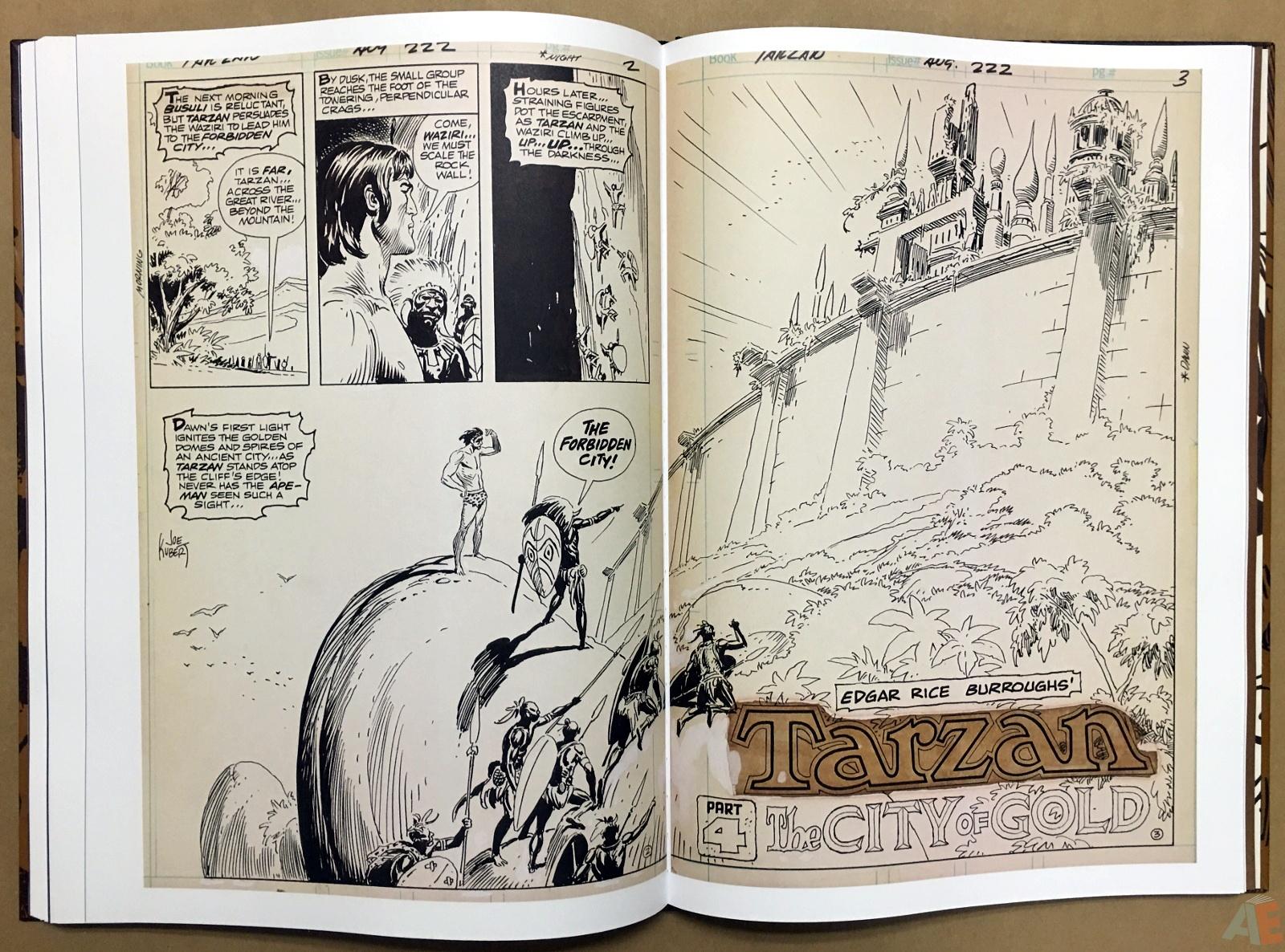 Joe Kubert's The Return Of Tarzan Artist's Edition 42