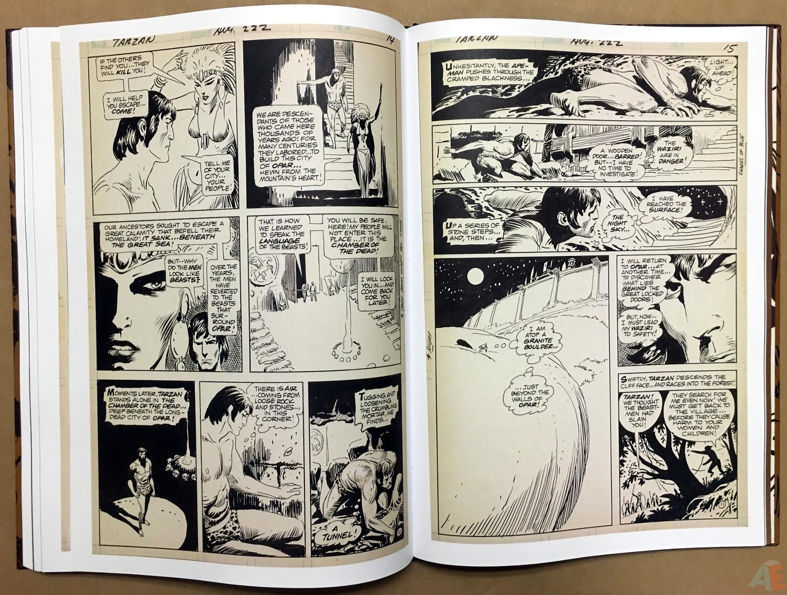 Joe Kubert's The Return Of Tarzan Artist's Edition 44