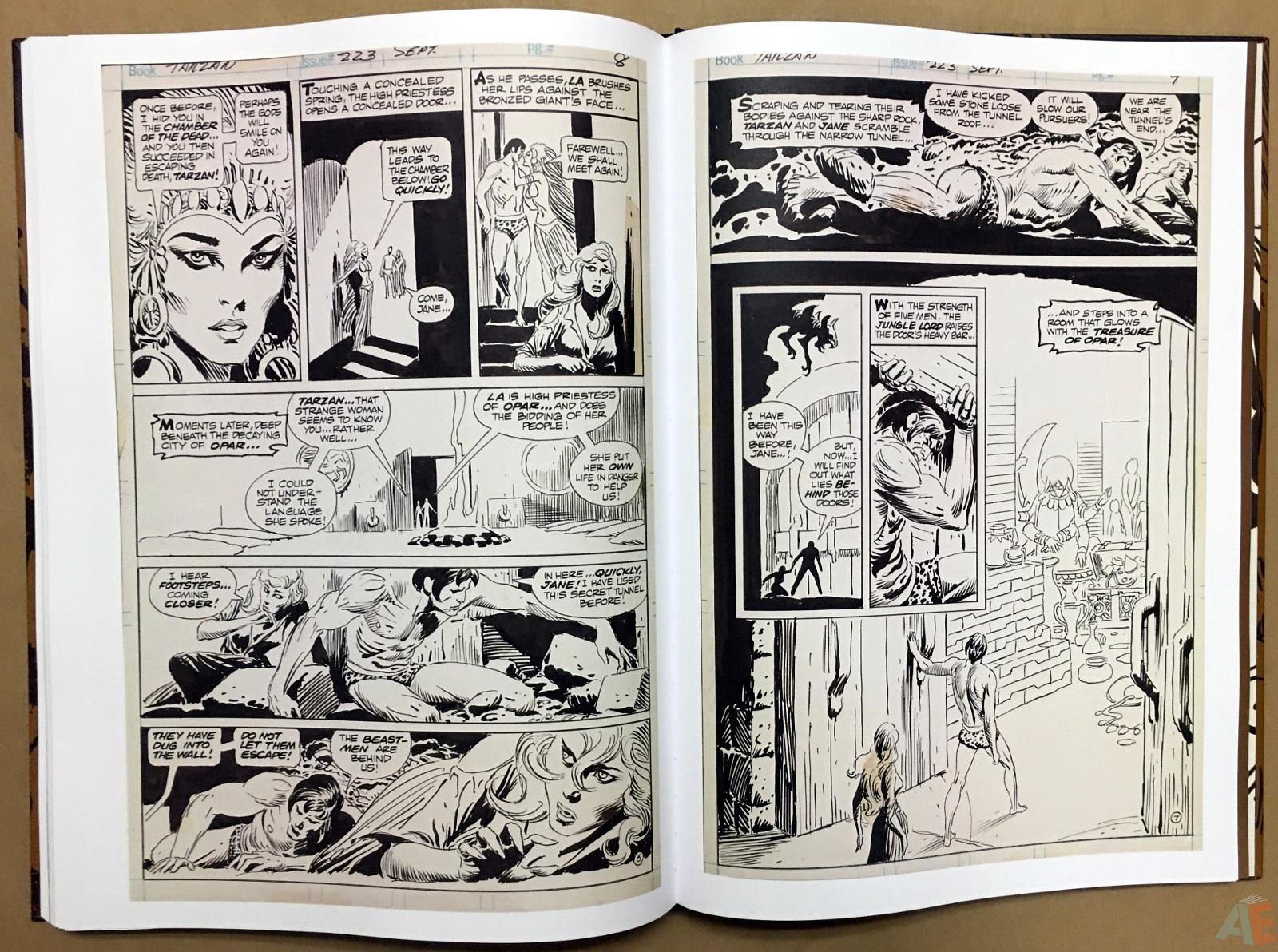 Joe Kubert's The Return Of Tarzan Artist's Edition 46