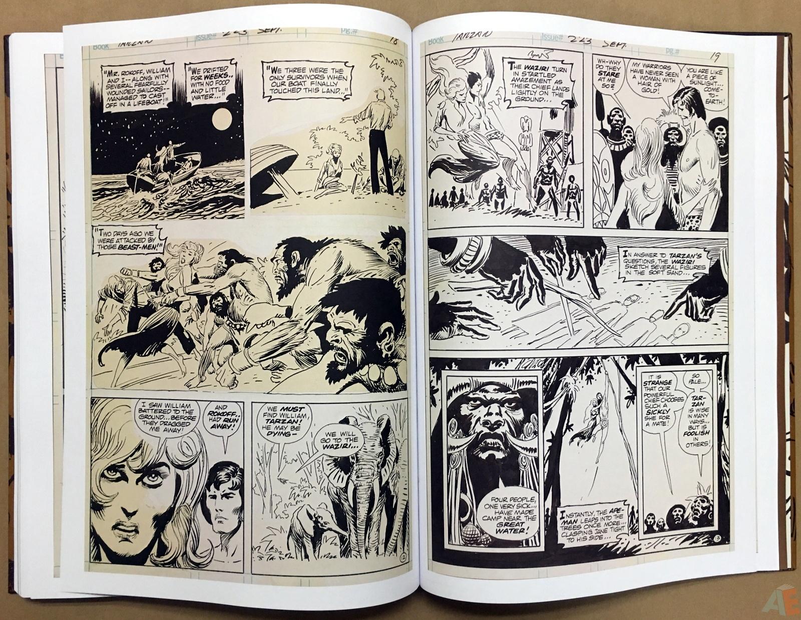 Joe Kubert's The Return Of Tarzan Artist's Edition 48