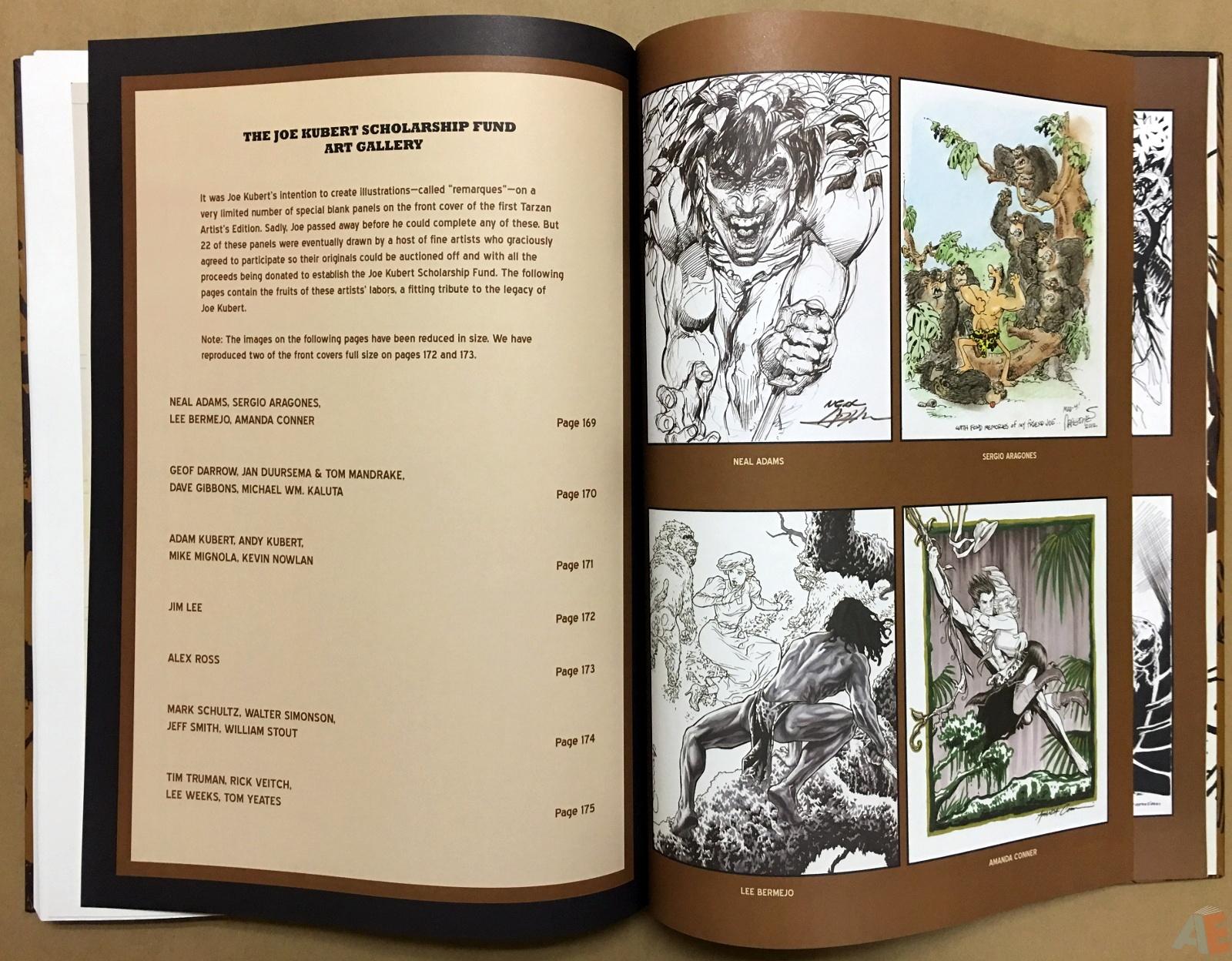 Joe Kubert's The Return Of Tarzan Artist's Edition 50