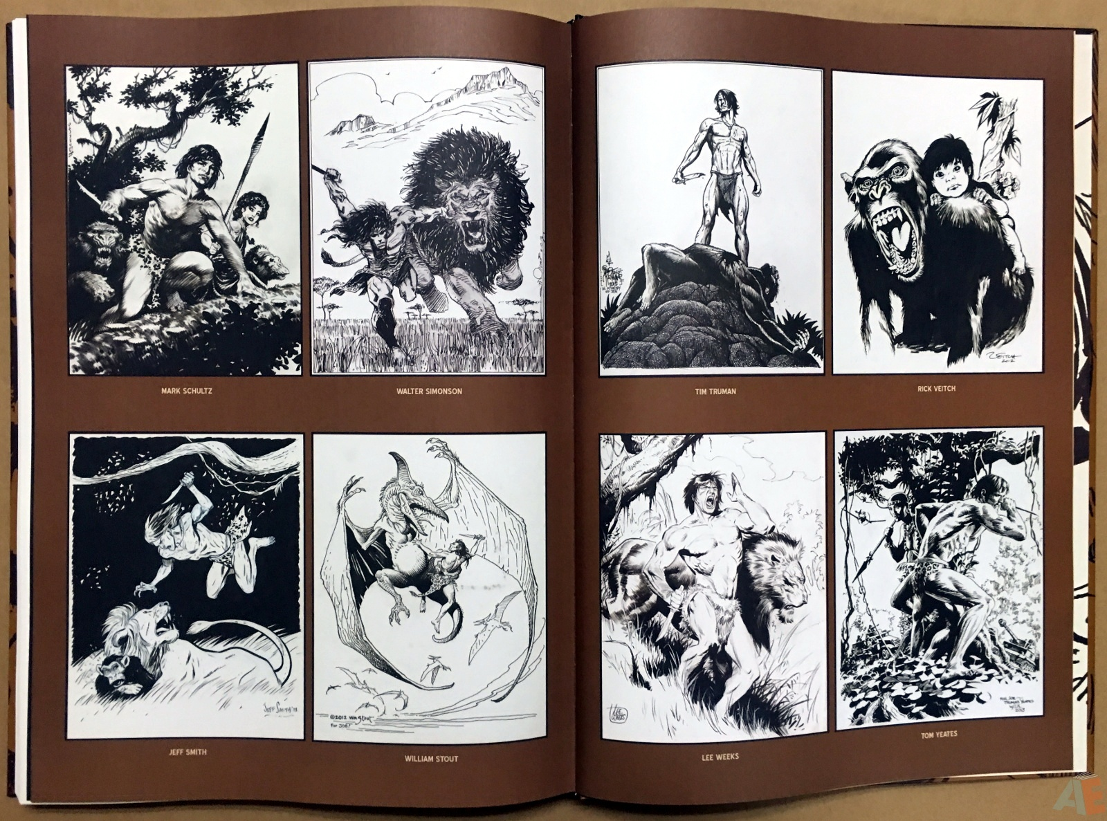 Joe Kubert's The Return Of Tarzan Artist's Edition 52