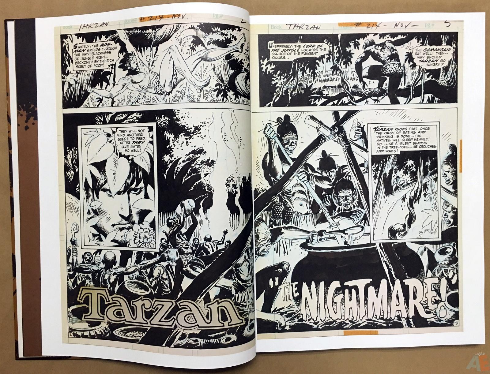 Joe Kubert's The Return Of Tarzan Artist's Edition 8