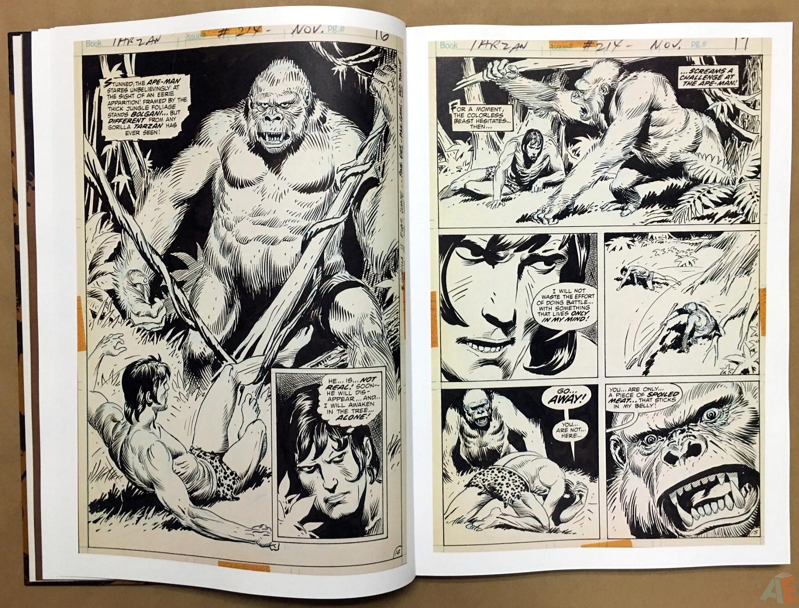 Joe Kubert's The Return Of Tarzan Artist's Edition 12
