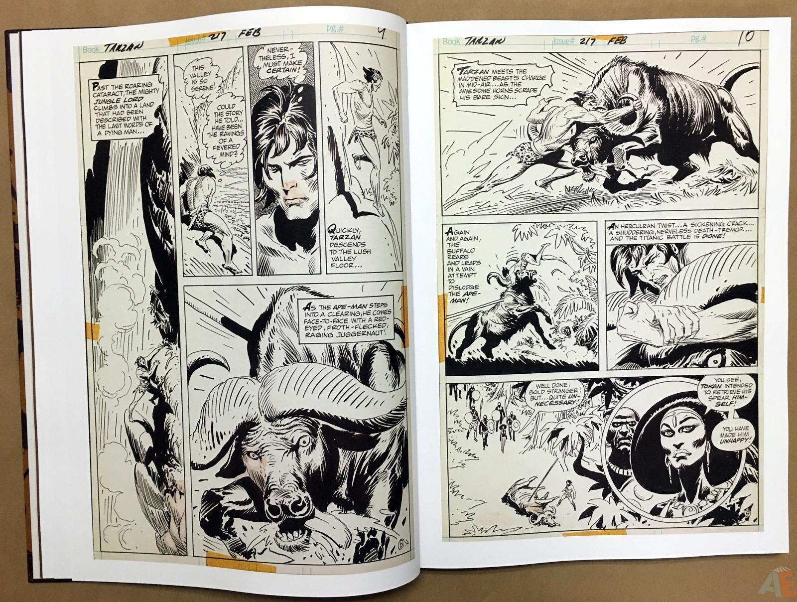Joe Kubert's The Return Of Tarzan Artist's Edition 16