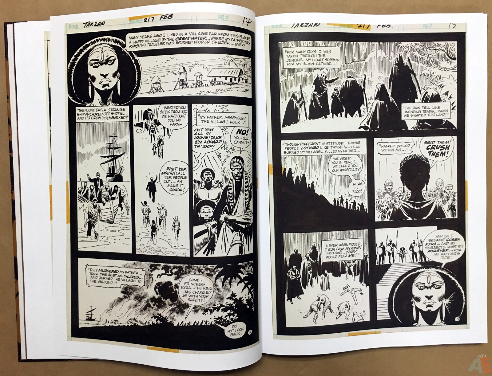 Joe Kubert's The Return Of Tarzan Artist's Edition 18