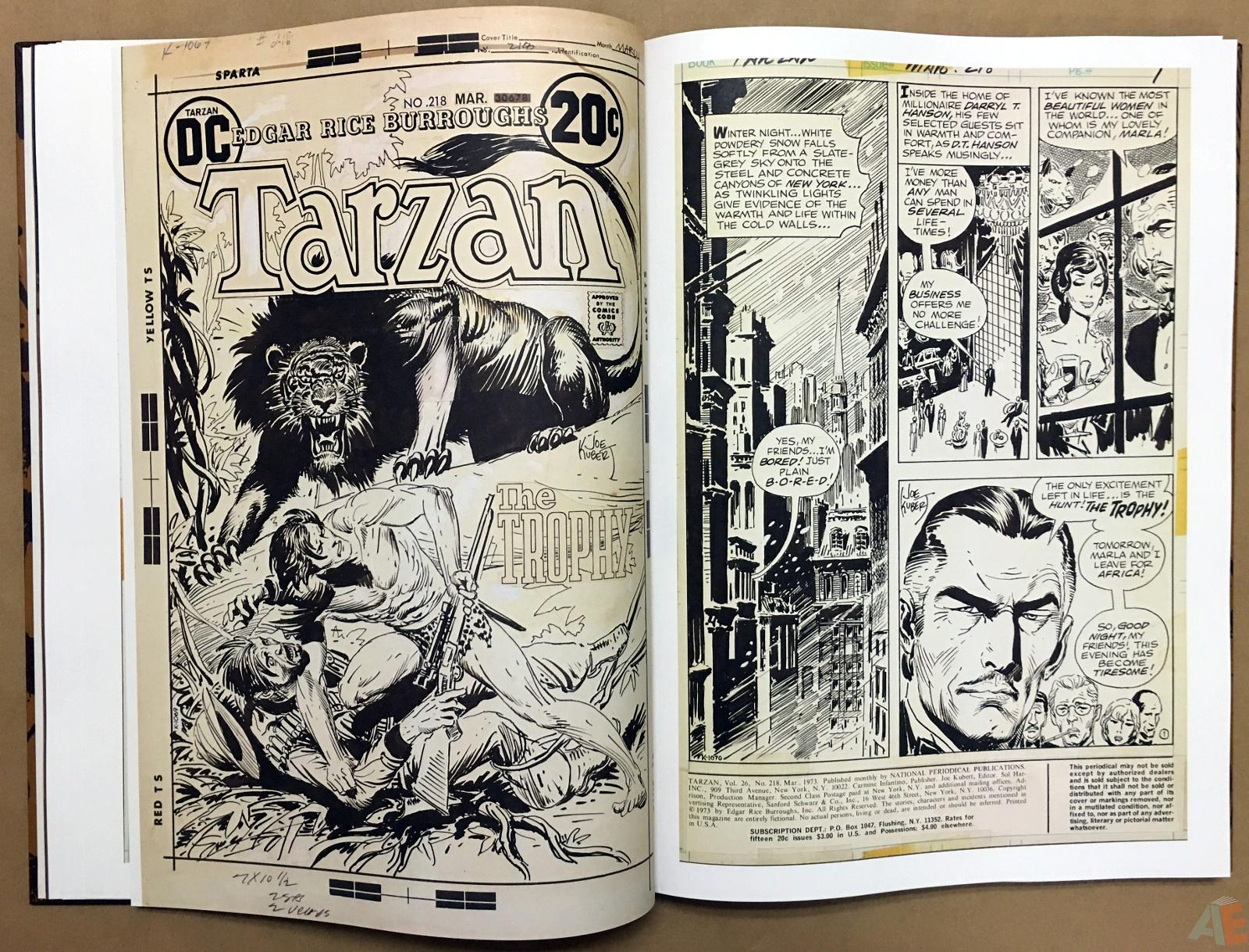 Joe Kubert's The Return Of Tarzan Artist's Edition 20