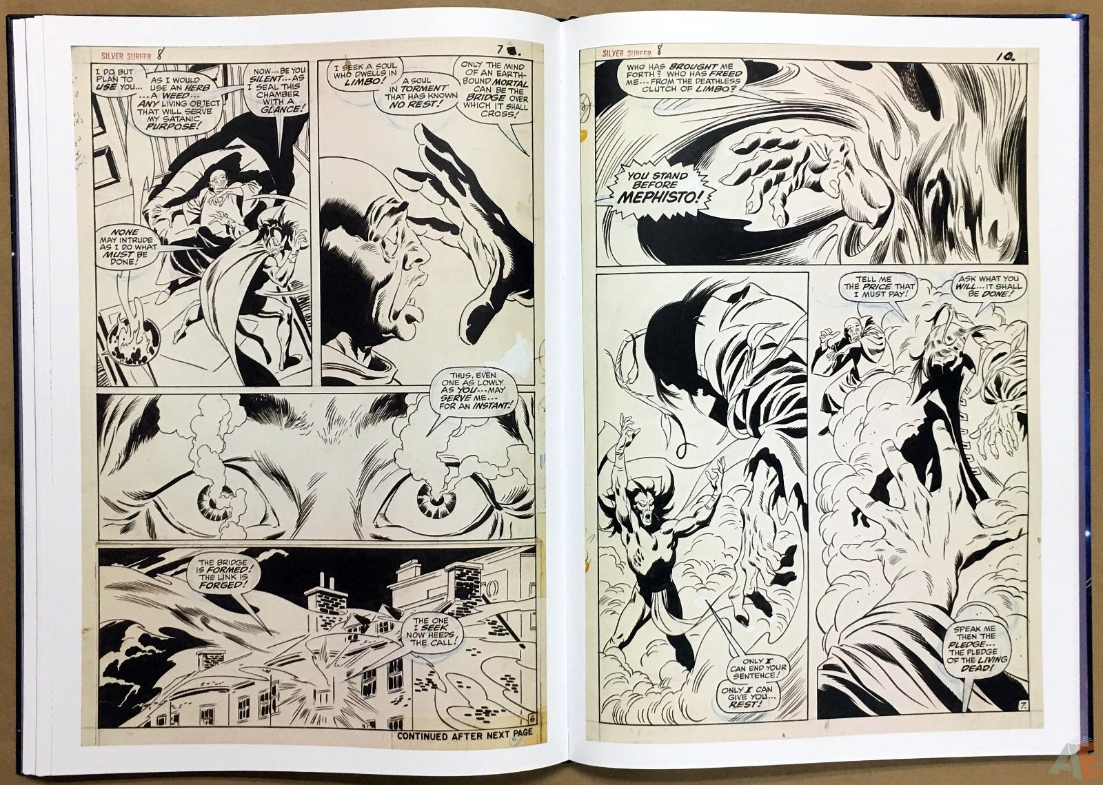 John Buscema's Silver Surfer Artist's Edition 26