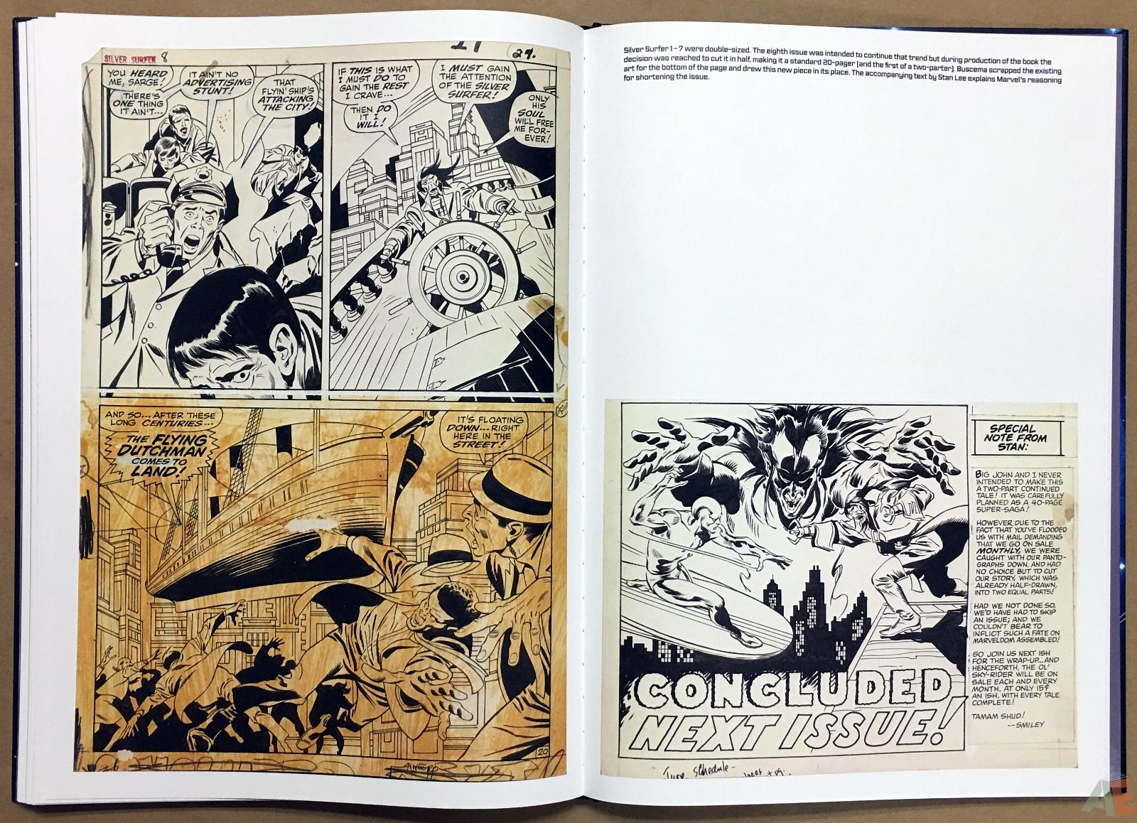 John Buscema's Silver Surfer Artist's Edition 30