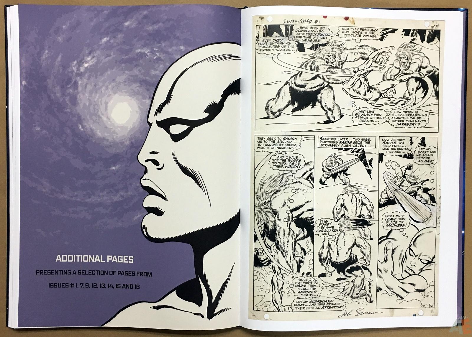 John Buscema's Silver Surfer Artist's Edition 32
