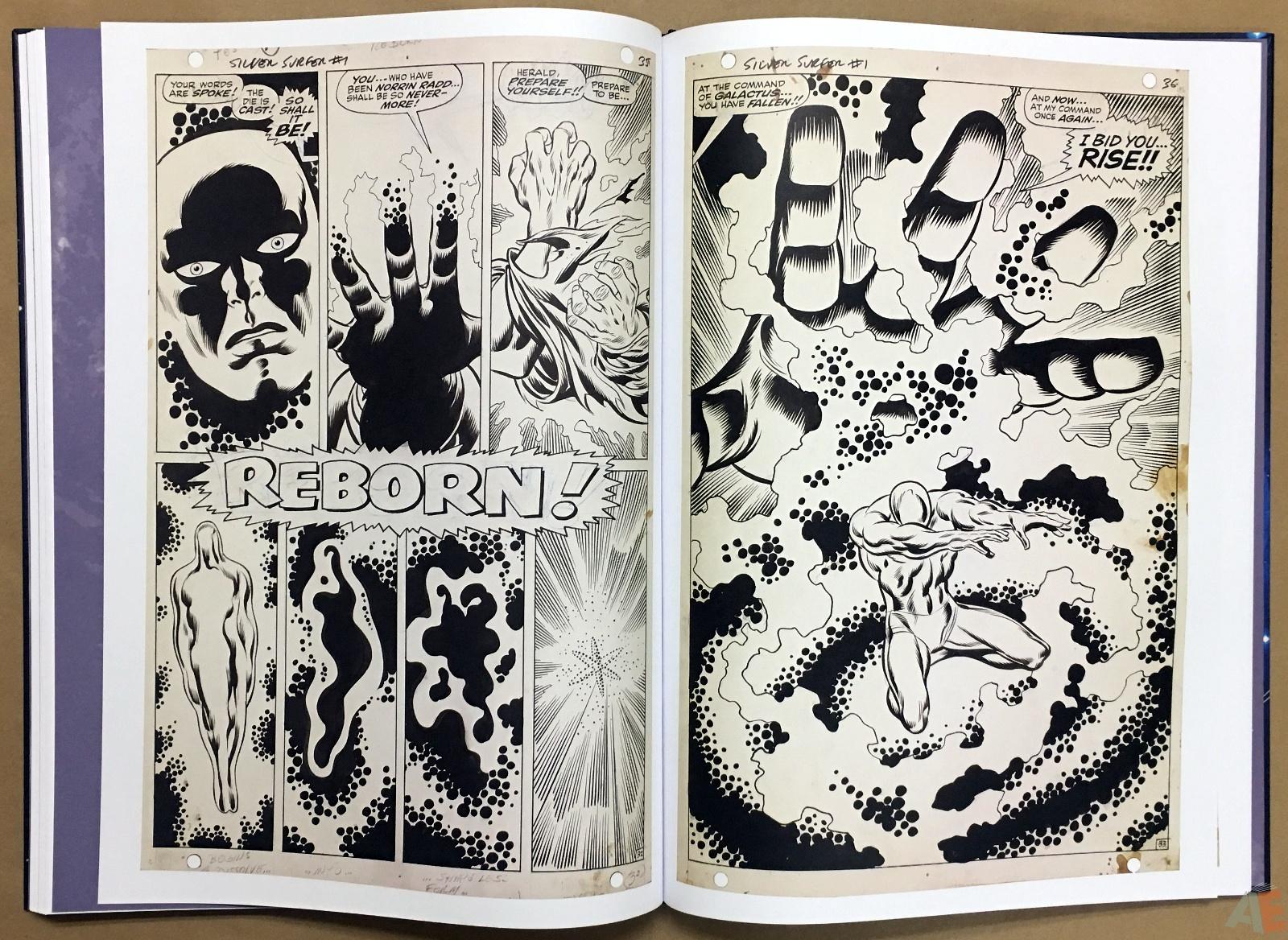 John Buscema's Silver Surfer Artist's Edition 34