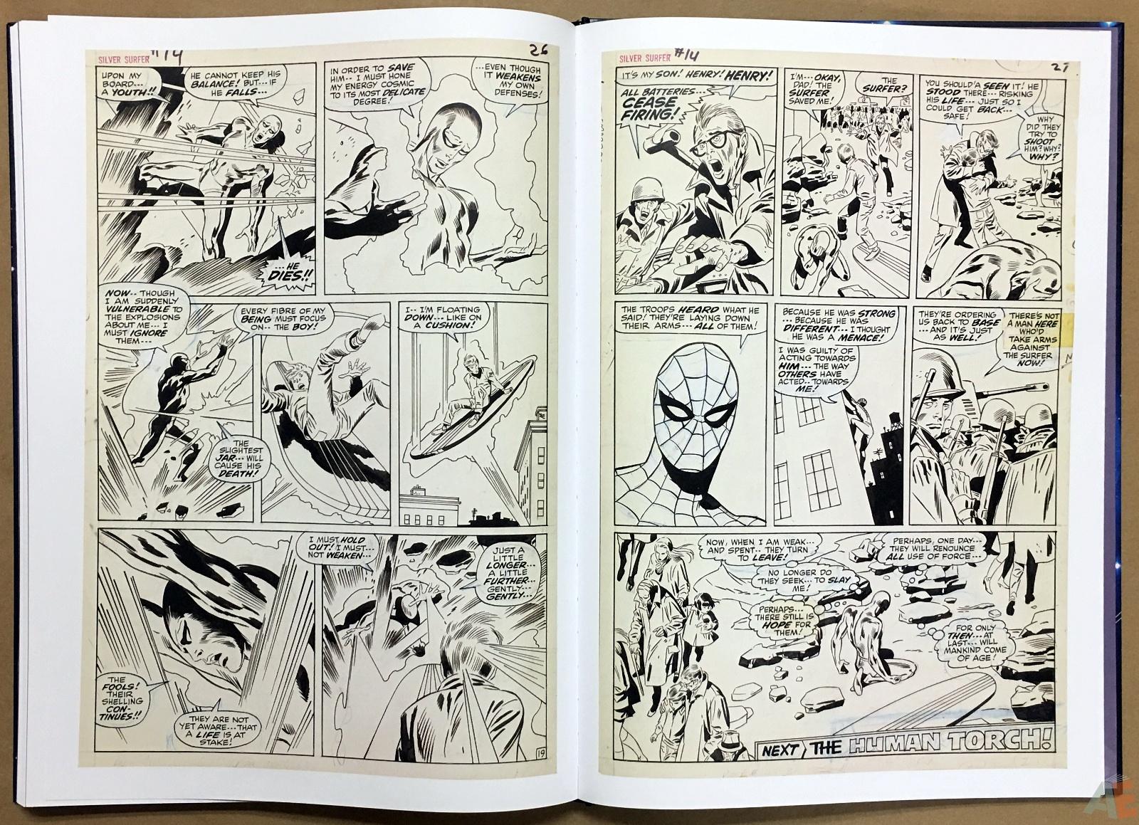 John Buscema's Silver Surfer Artist's Edition 38