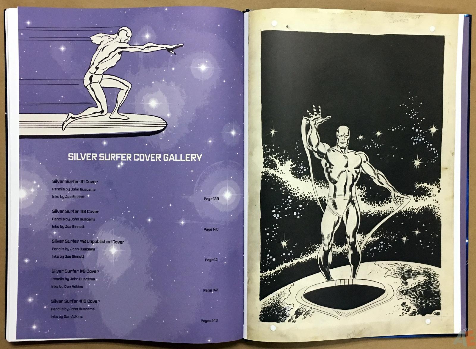 John Buscema's Silver Surfer Artist's Edition 40