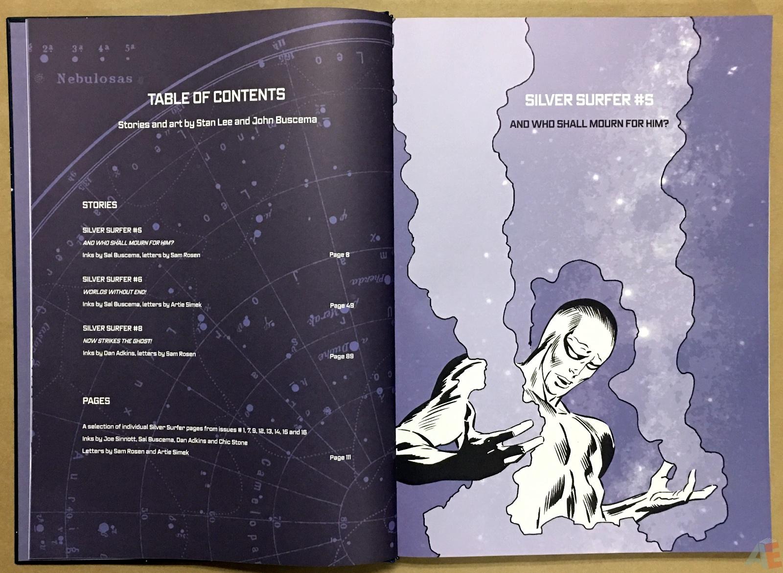 John Buscema's Silver Surfer Artist's Edition 6