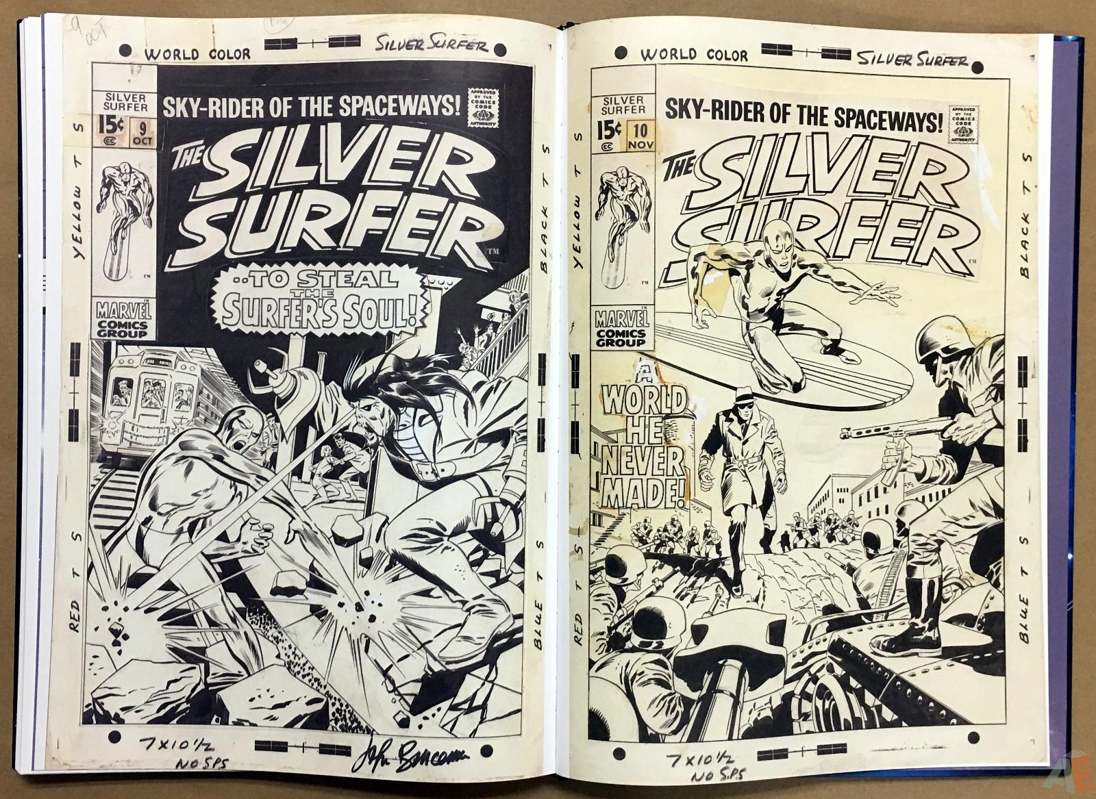 John Buscema's Silver Surfer Artist's Edition 42