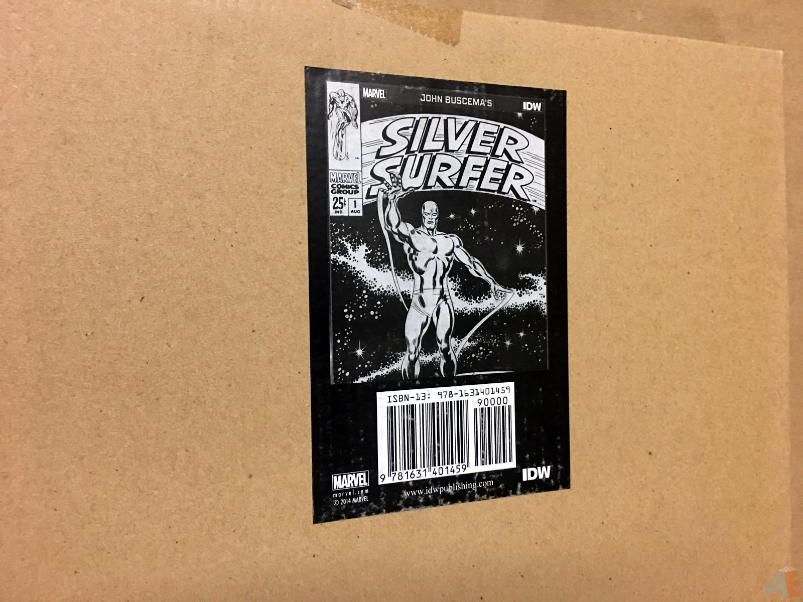 John Buscema's Silver Surfer Artist's Edition 46