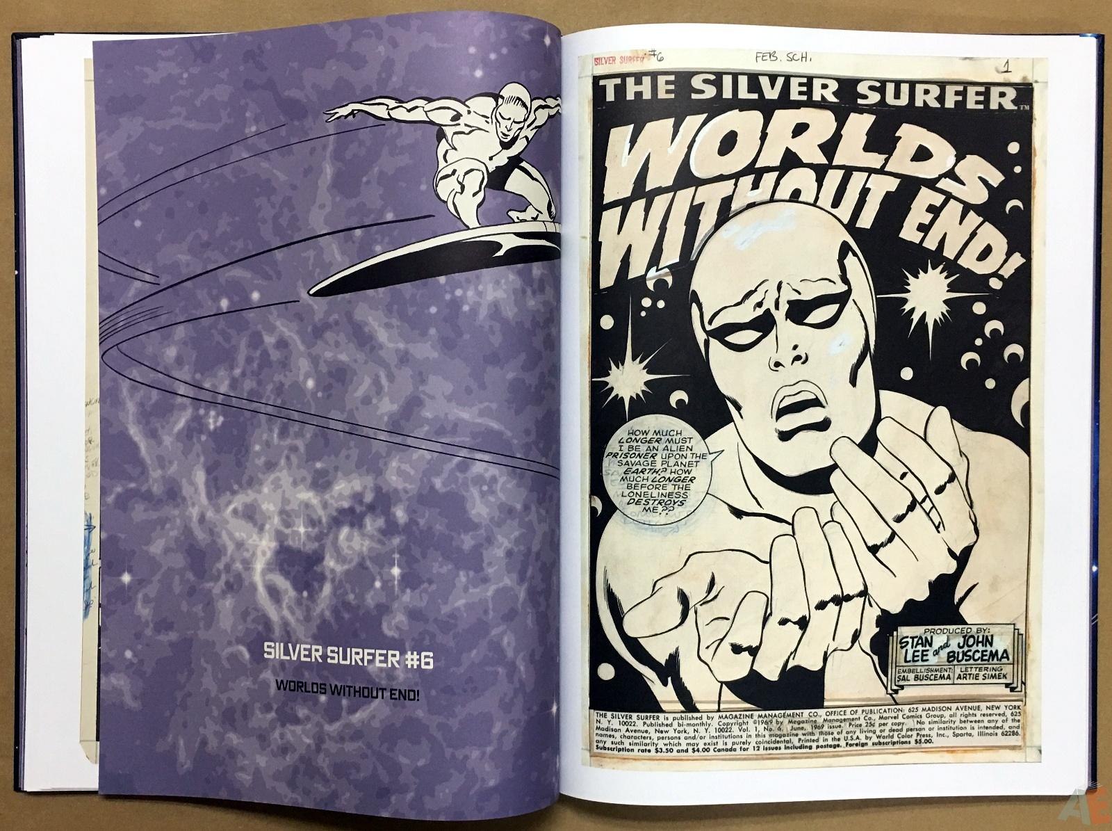 John Buscema's Silver Surfer Artist's Edition 16