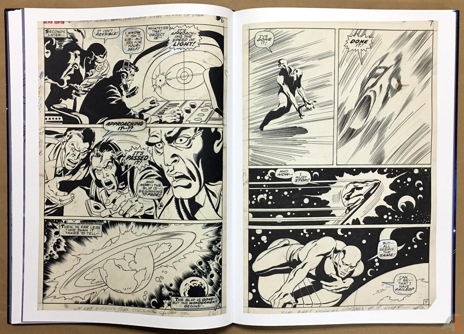 John Buscema's Silver Surfer Artist's Edition 18