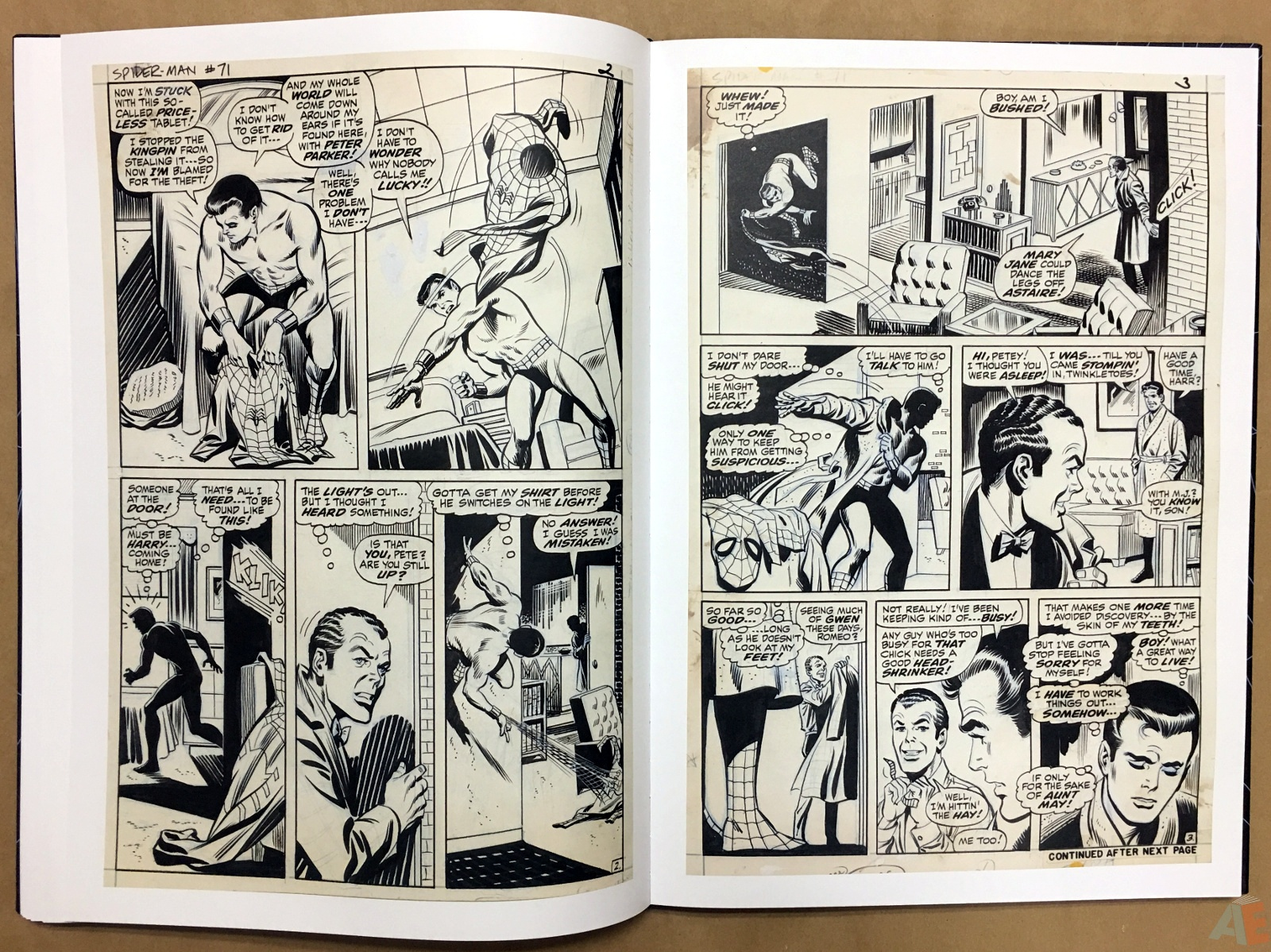 John Romita's The Amazing Spider-Man Artist's Edition 28