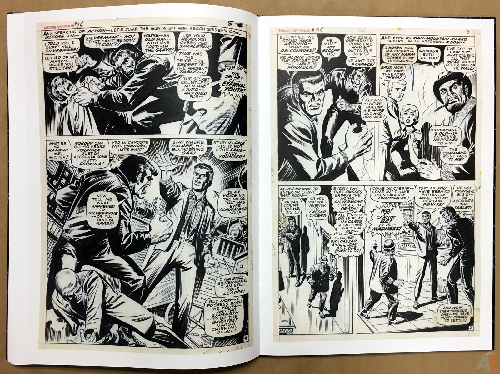 John Romita's The Amazing Spider-Man Artist's Edition 38