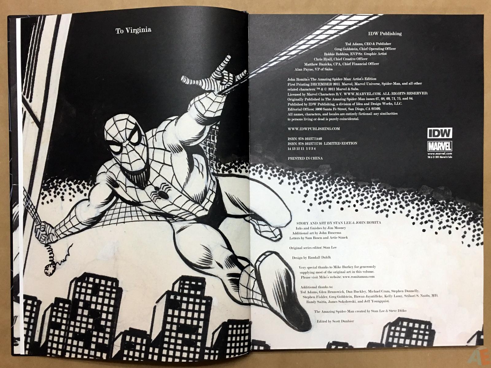 John Romita's The Amazing Spider-Man Artist's Edition 4