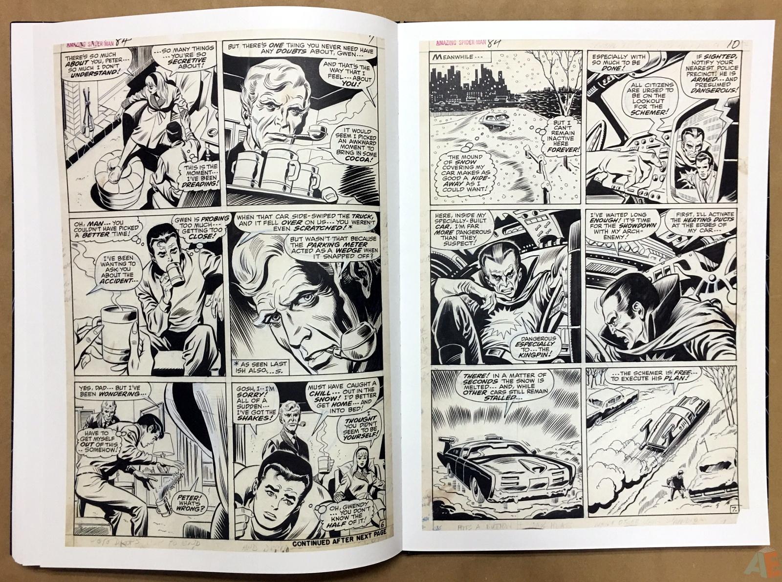 John Romita's The Amazing Spider-Man Artist's Edition 46
