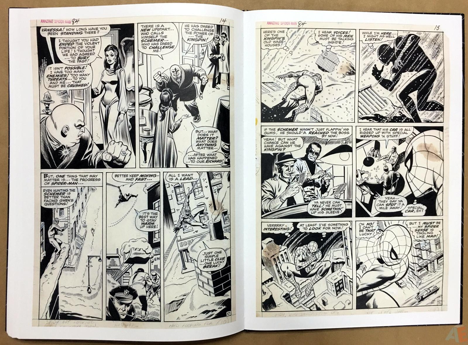 John Romita's The Amazing Spider-Man Artist's Edition 48