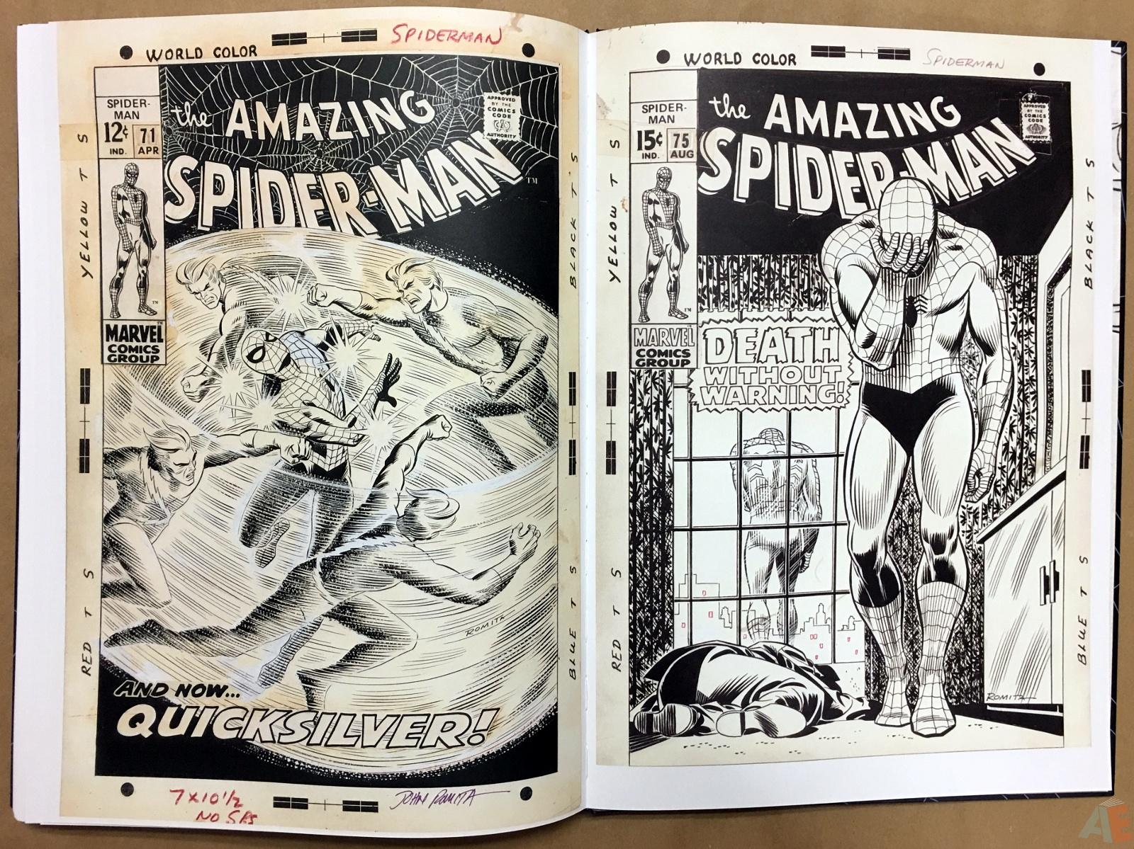 John Romita's The Amazing Spider-Man Artist's Edition 54