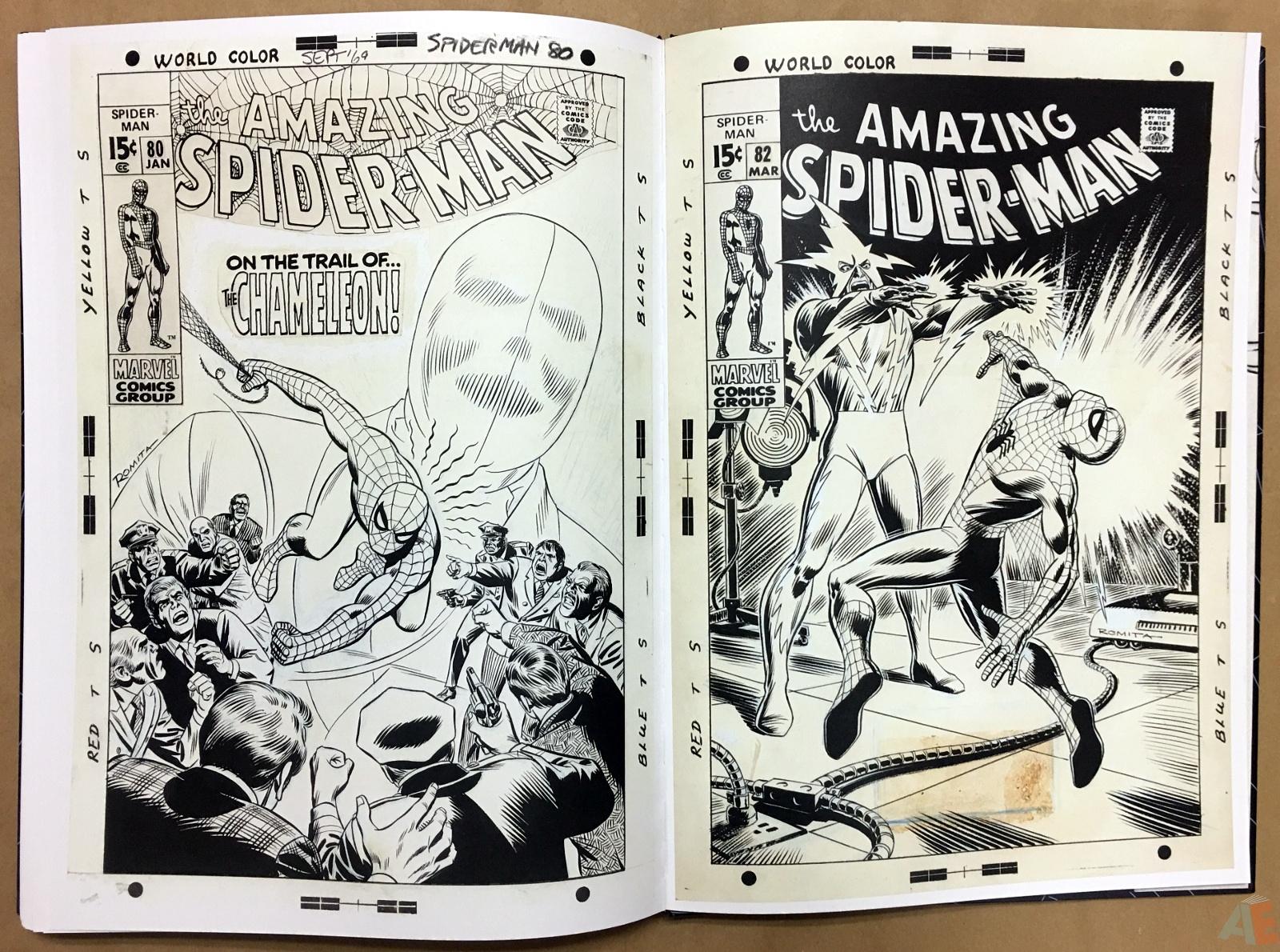 John Romita's The Amazing Spider-Man Artist's Edition 56