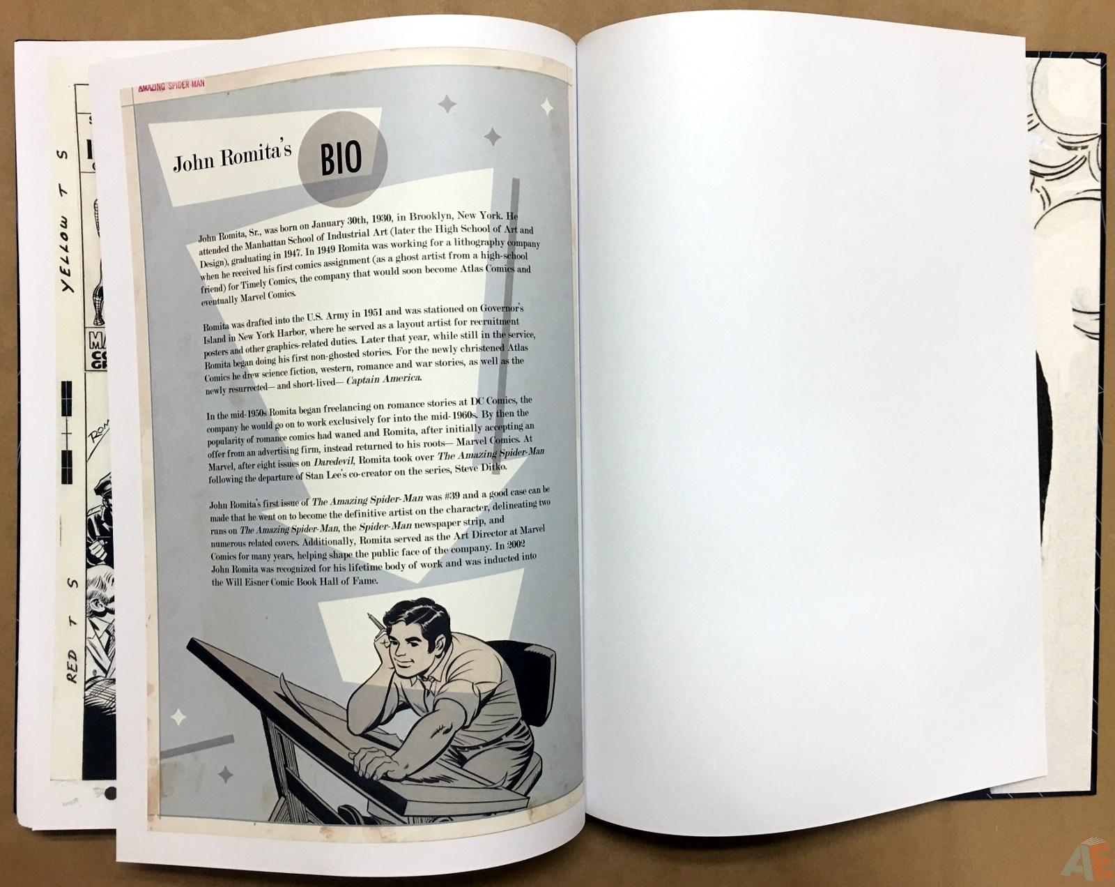 John Romita's The Amazing Spider-Man Artist's Edition 58