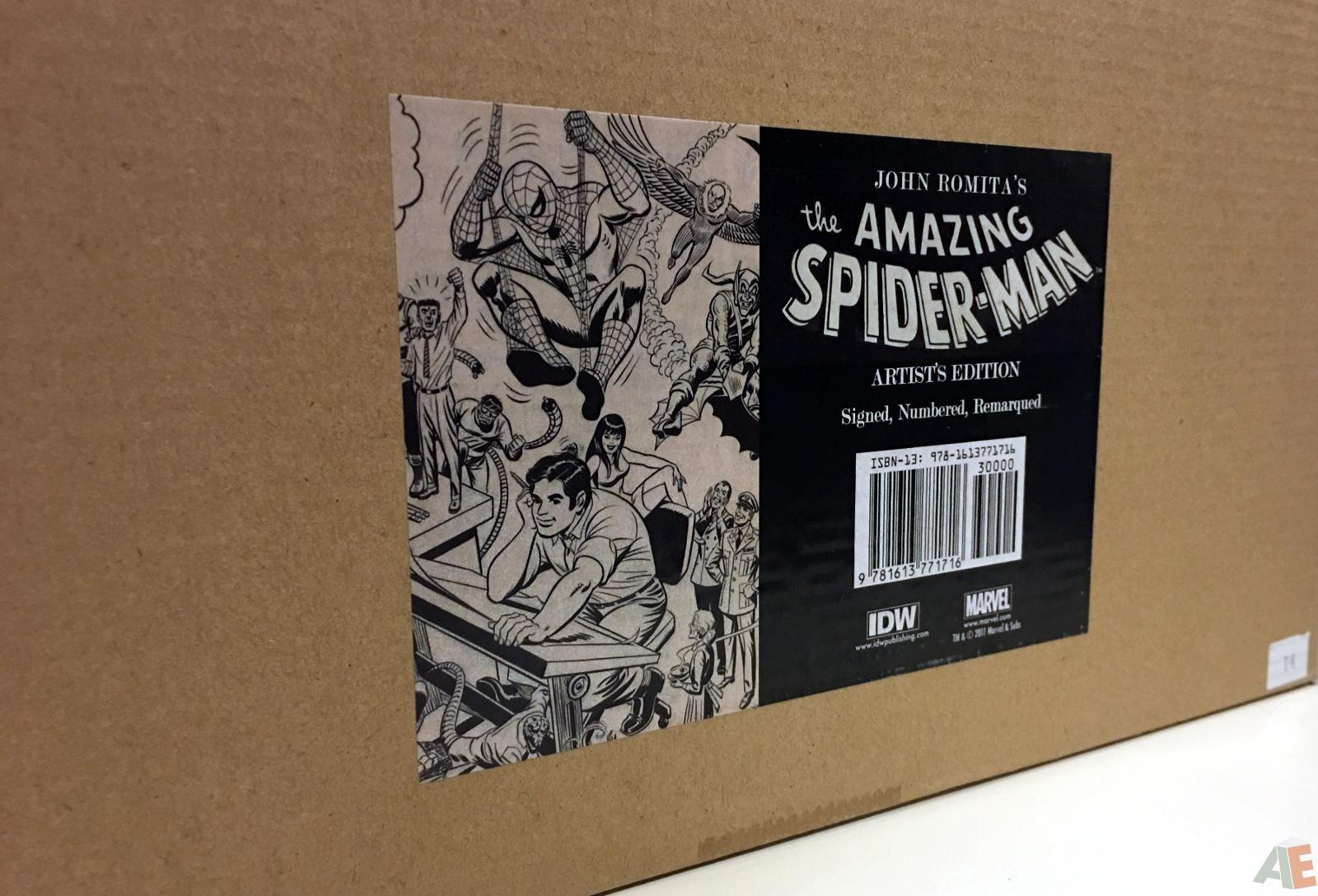 John Romita's The Amazing Spider-Man Artist's Edition 62