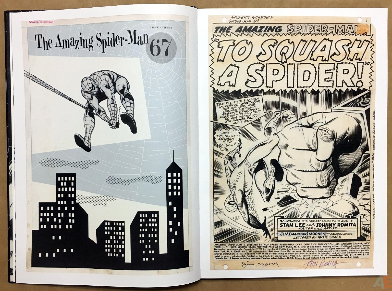 John Romita's The Amazing Spider-Man Artist's Edition 8