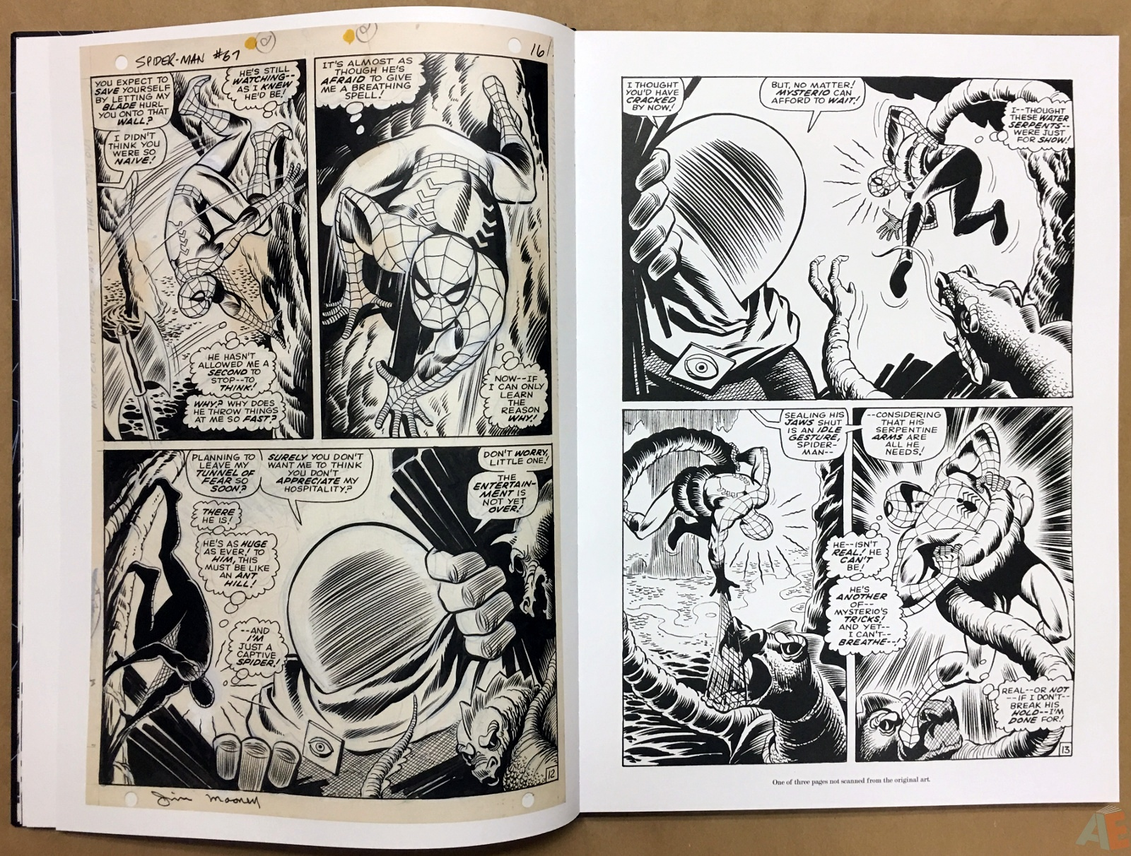 John Romita's The Amazing Spider-Man Artist's Edition 12