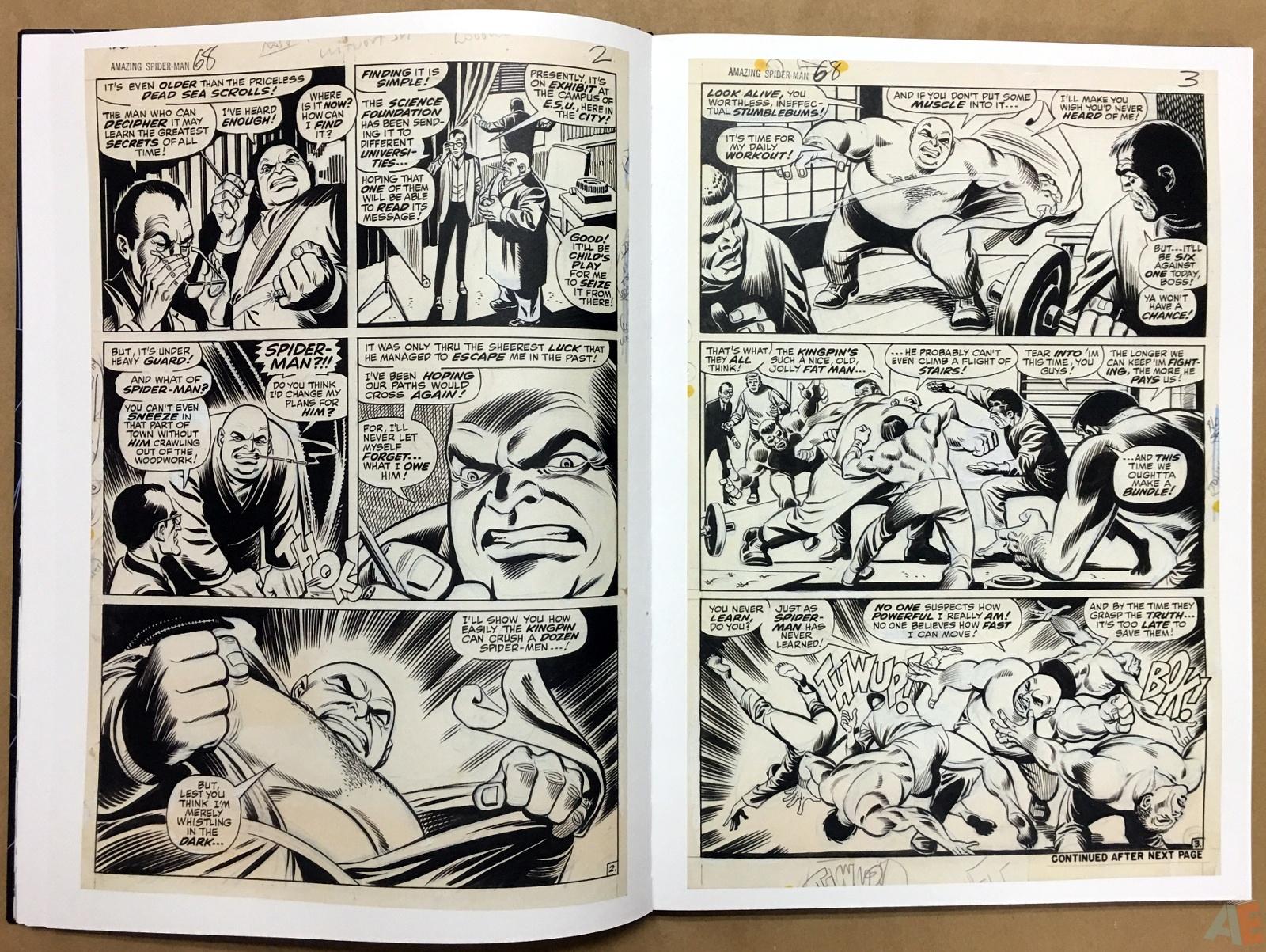 John Romita's The Amazing Spider-Man Artist's Edition 14