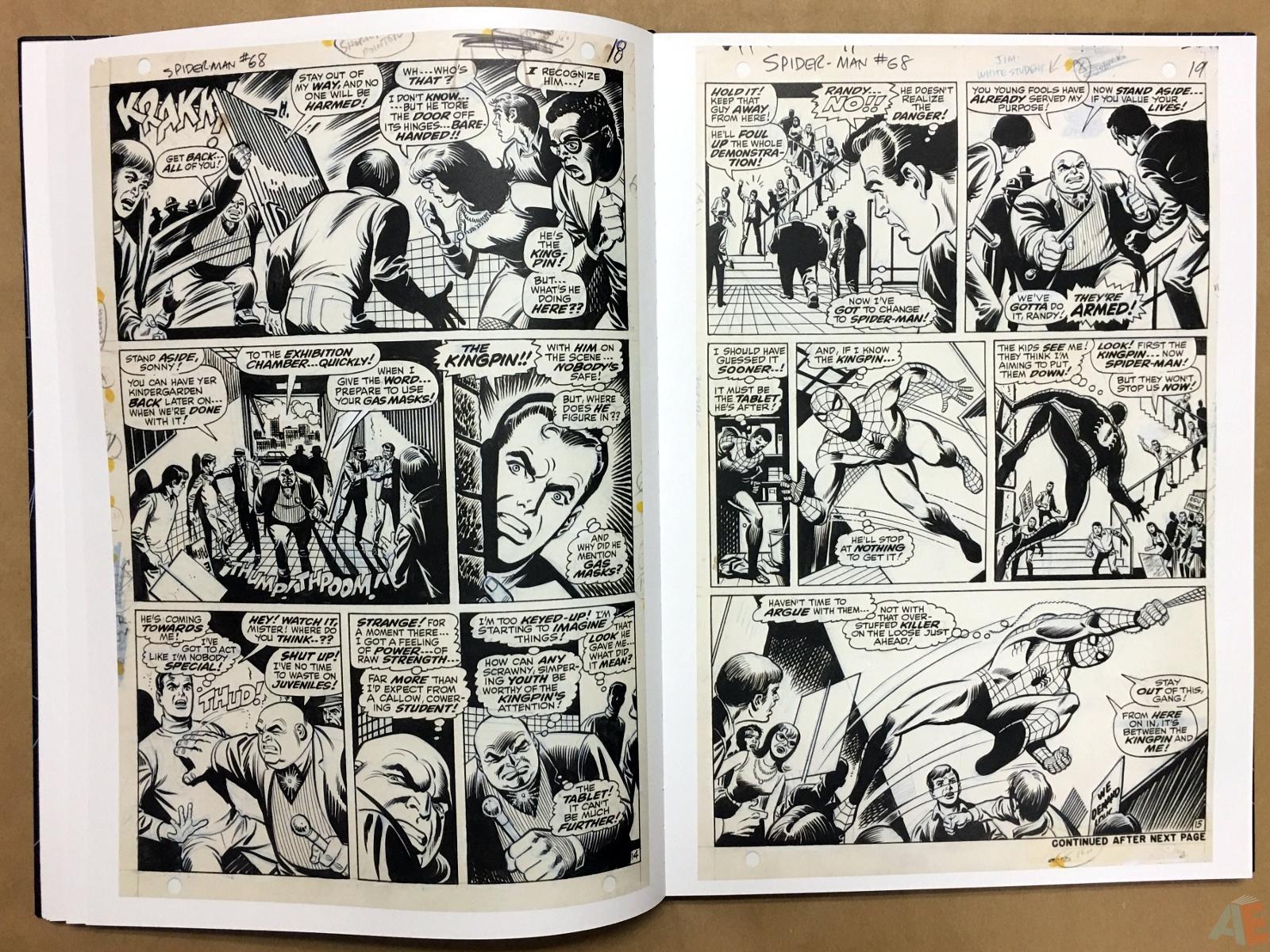 John Romita's The Amazing Spider-Man Artist's Edition 16