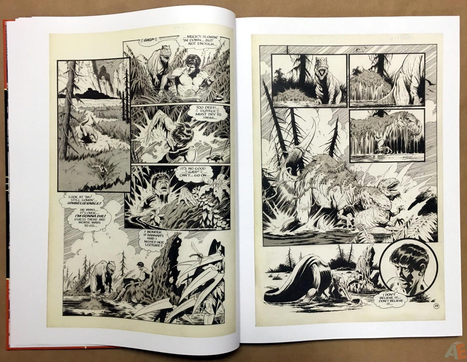 Mark Schultz's Xenozoic Tales Artist's Edition